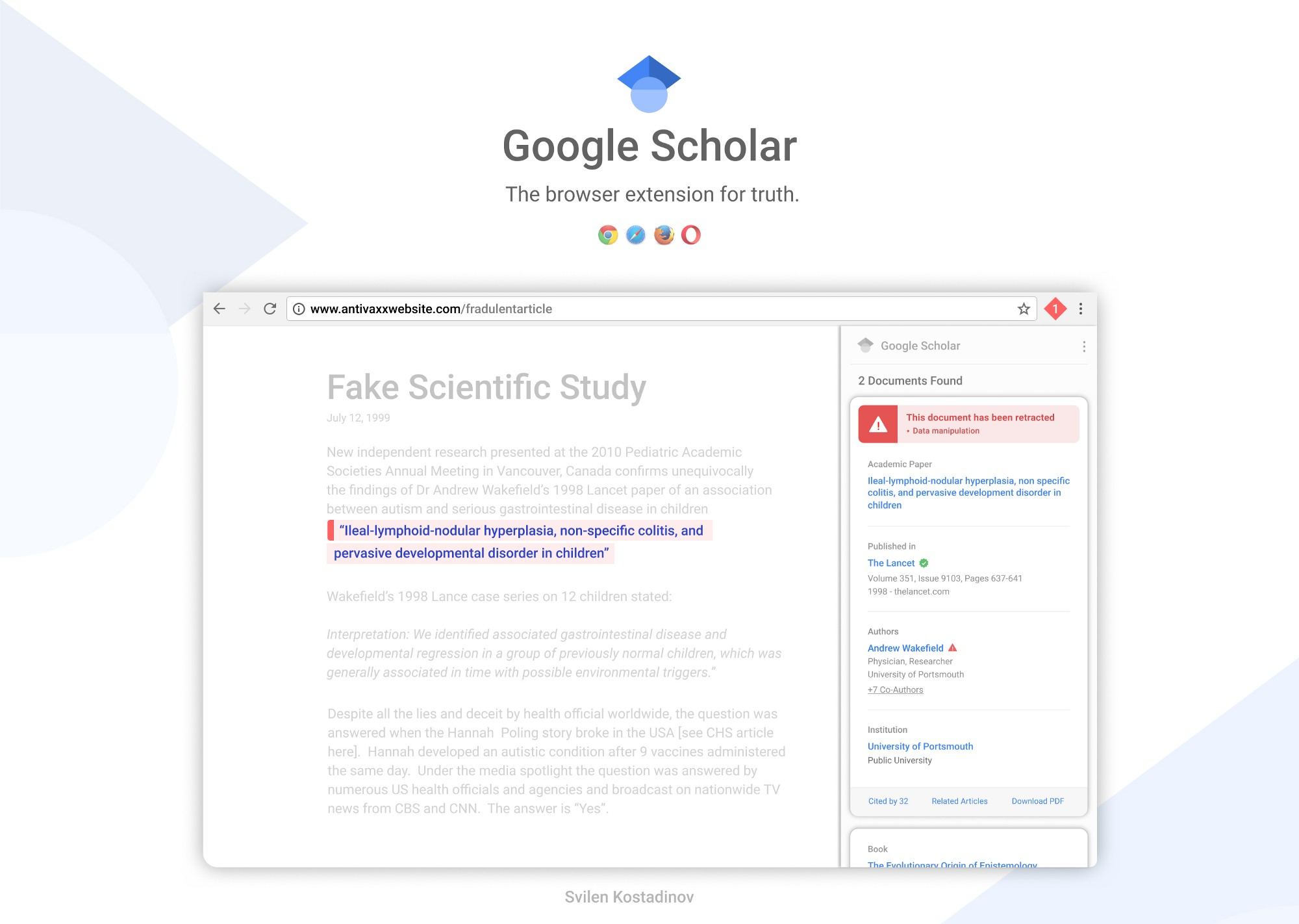 Designing for truth google scholar concept muzli design designing for truth google scholar concept ccuart Image collections