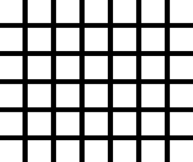 The white circles in the intersections of this grid clearly don't correspond to reality. They also shift based on where on the grid we pay attention to. Our neural correlate must also explain the illusions a subject is seeing.