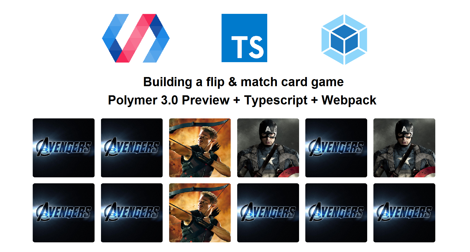 Polymer 3 0 Preview Building A Mini Card Game Jecelyn Yeen Medium