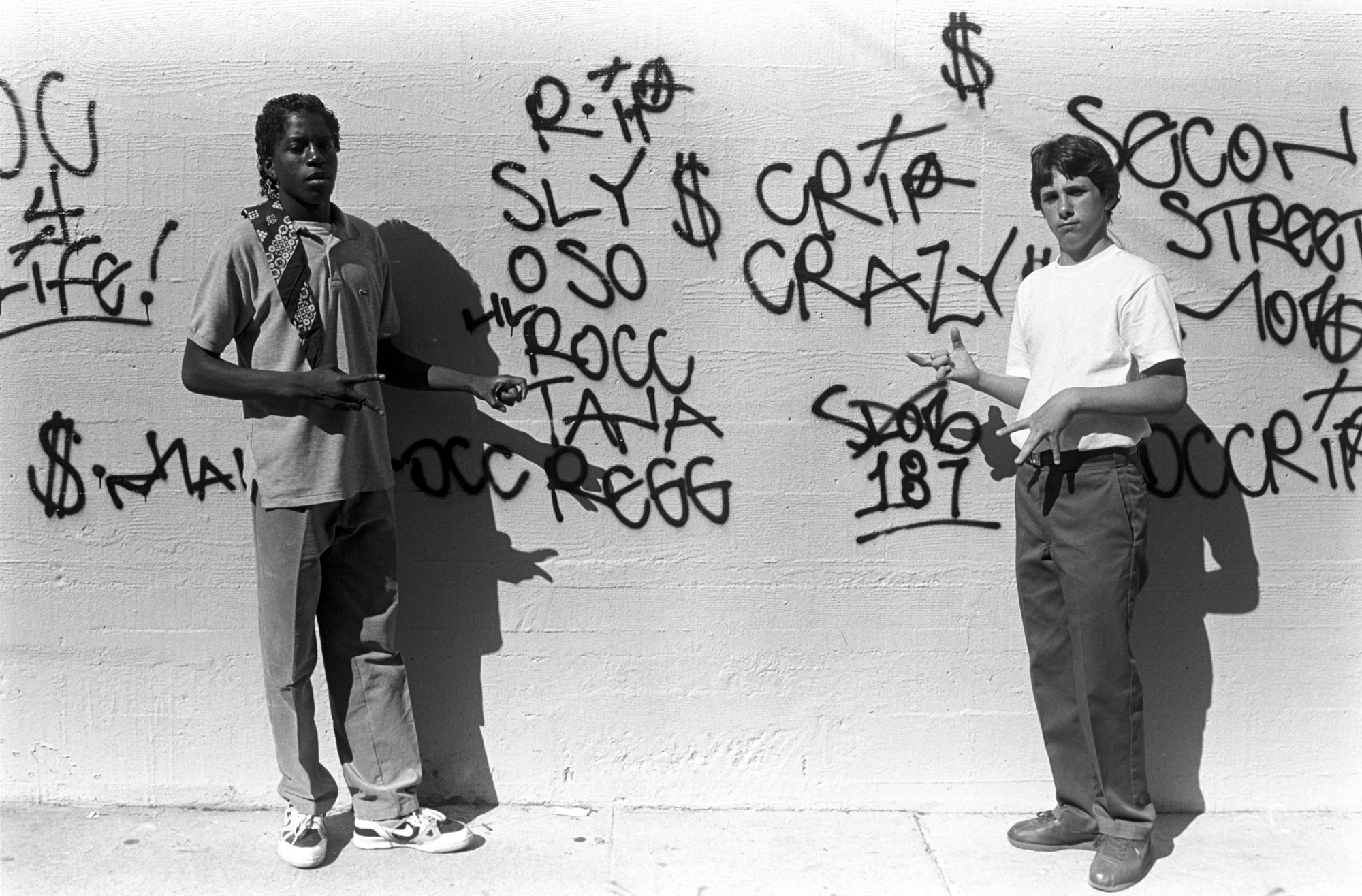 In the 1980s gang signs were the secret visual language of the in the 1980s gang signs were the secret visual language of the streets buycottarizona