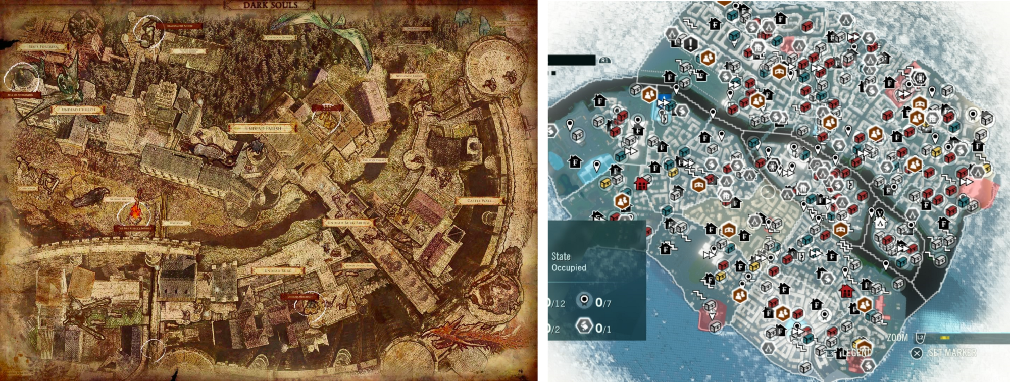 Some random thoughts on open world games rustam tagiev medium every inch of the semi open world of dark souls has its own story to tell the assassins creed unity map is just stocked with content that has no story to gumiabroncs Images