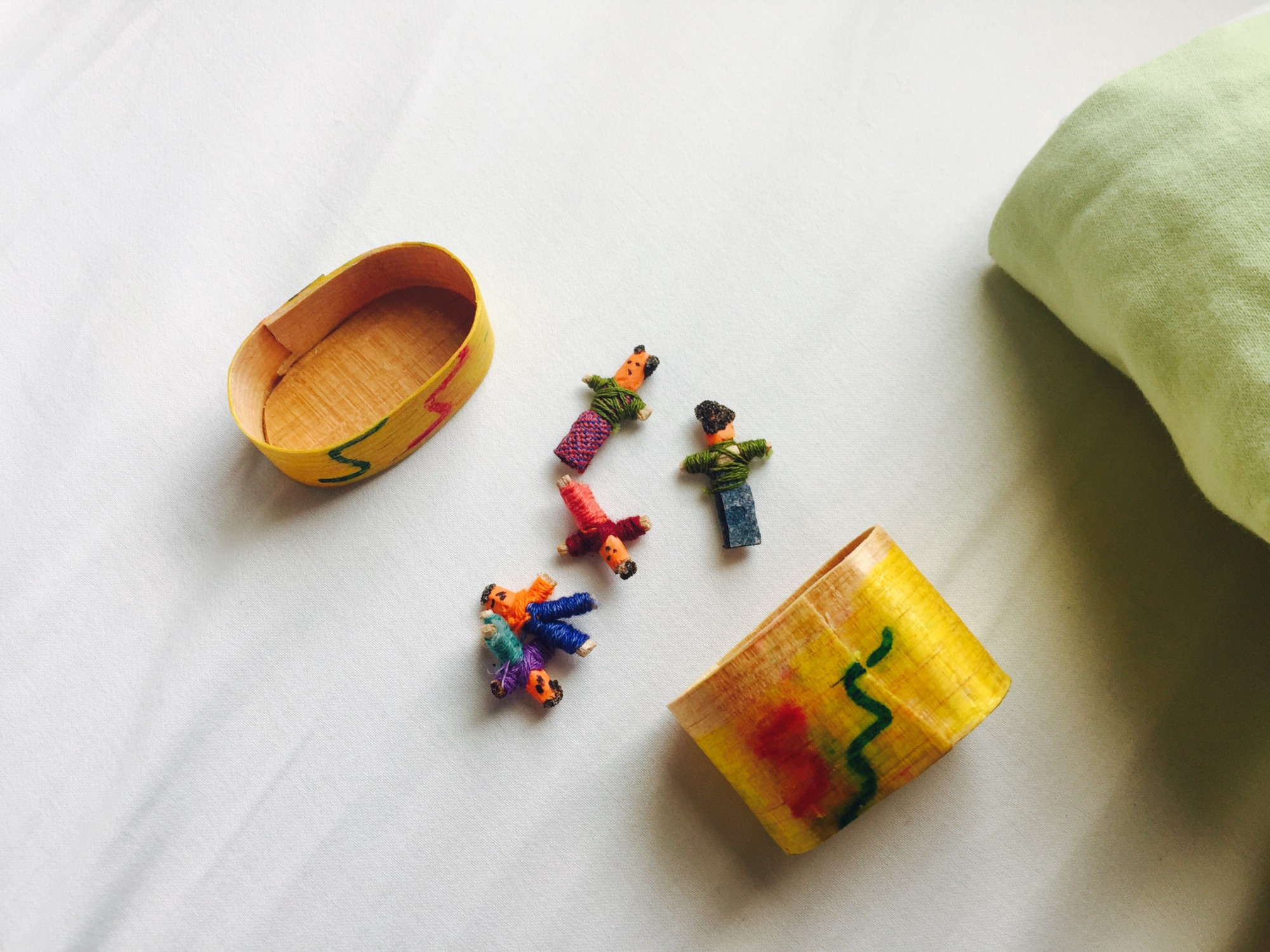 I introduced my daughter to worry dolls. Here is what she ...