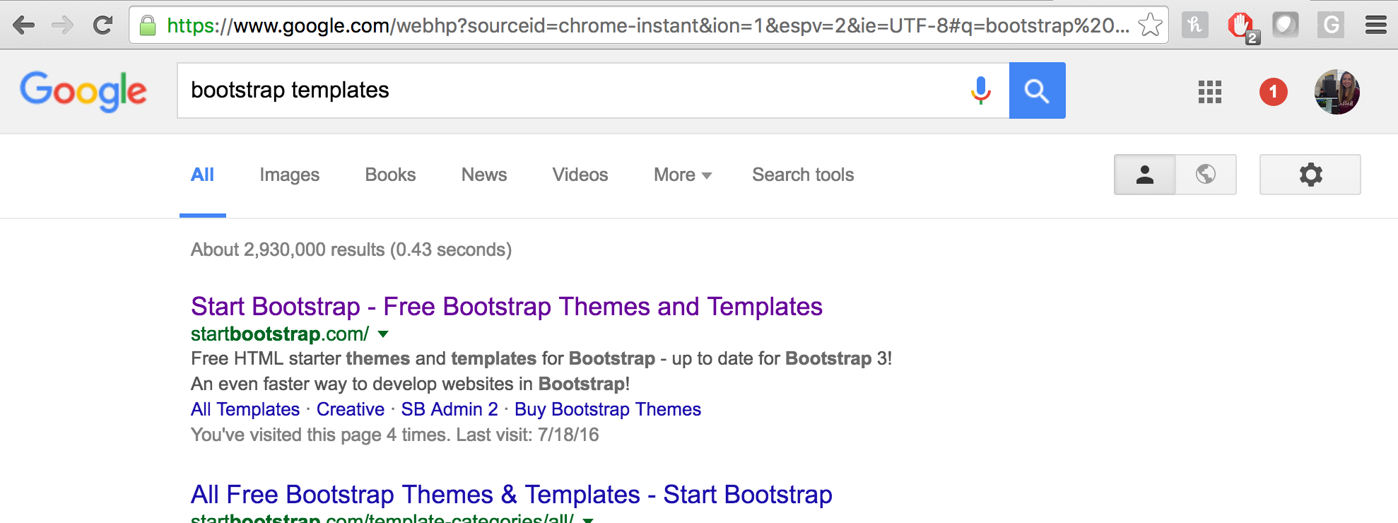 How to look good with bootstrap kathryn hodge medium just did is to download a sample template and change the text fonts and formatting to something you like so we if go and google bootstrap templates falaconquin