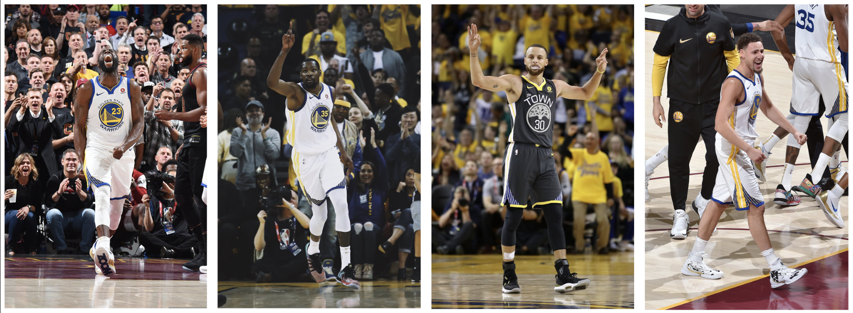 comparing the warriors big four to other historic quartets
