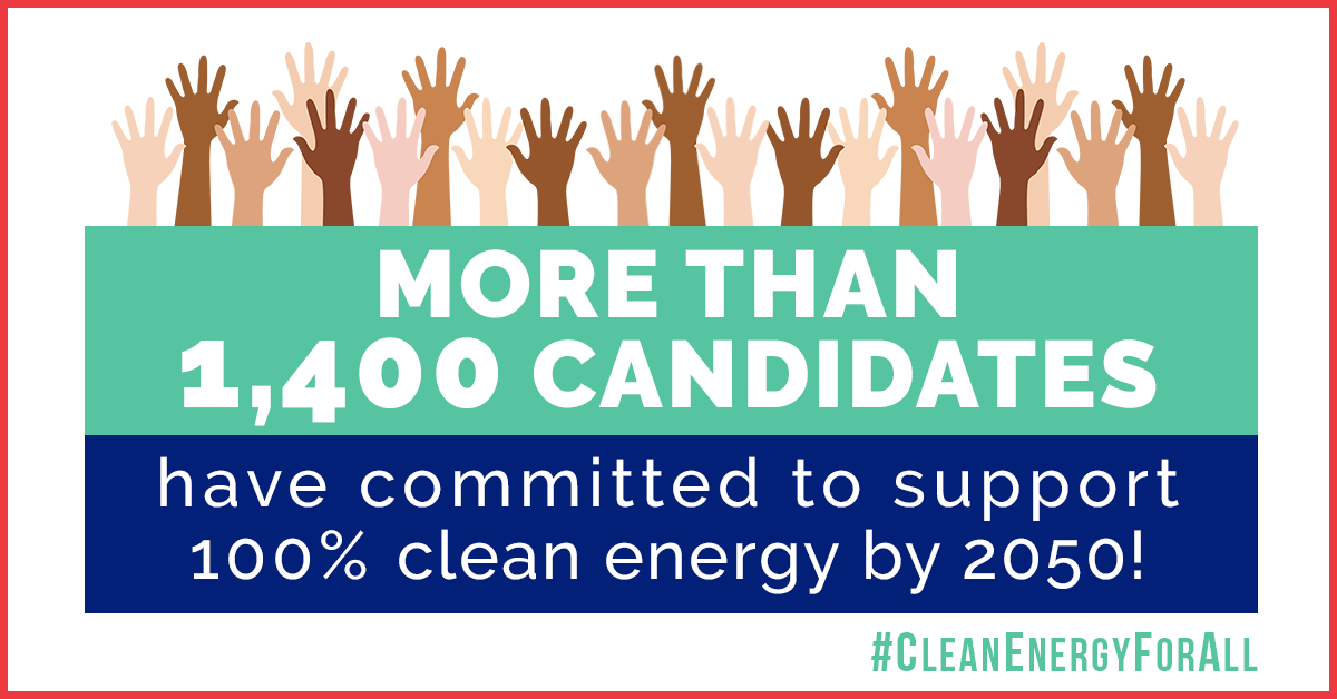 Clean Energy for All — 2018 Candidates Commitments