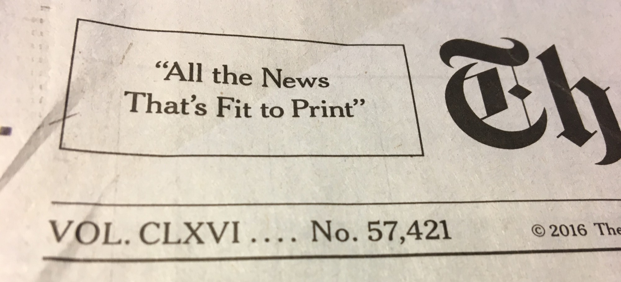 How we read The New York Times (or any other paper) in the age of social media