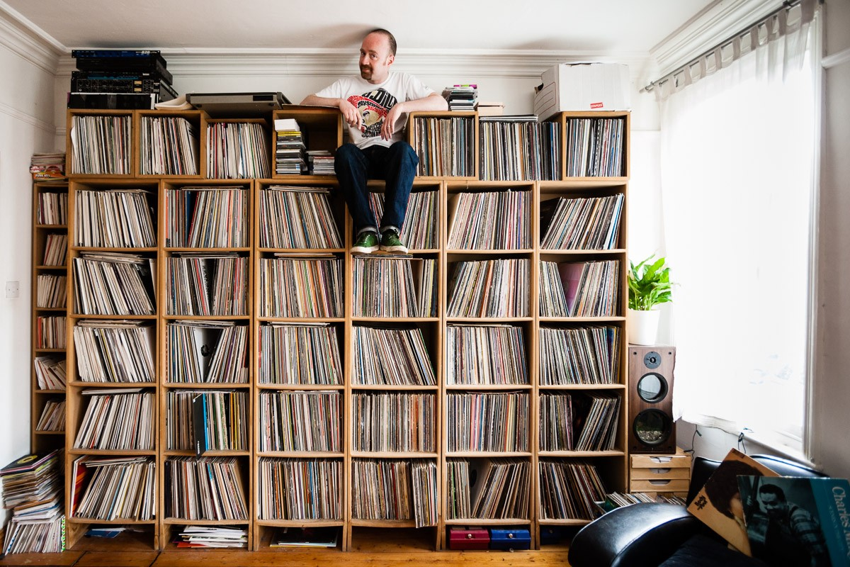 The secret lives of vinyl hoarders cuepoint medium - Collection disque vinyl ...
