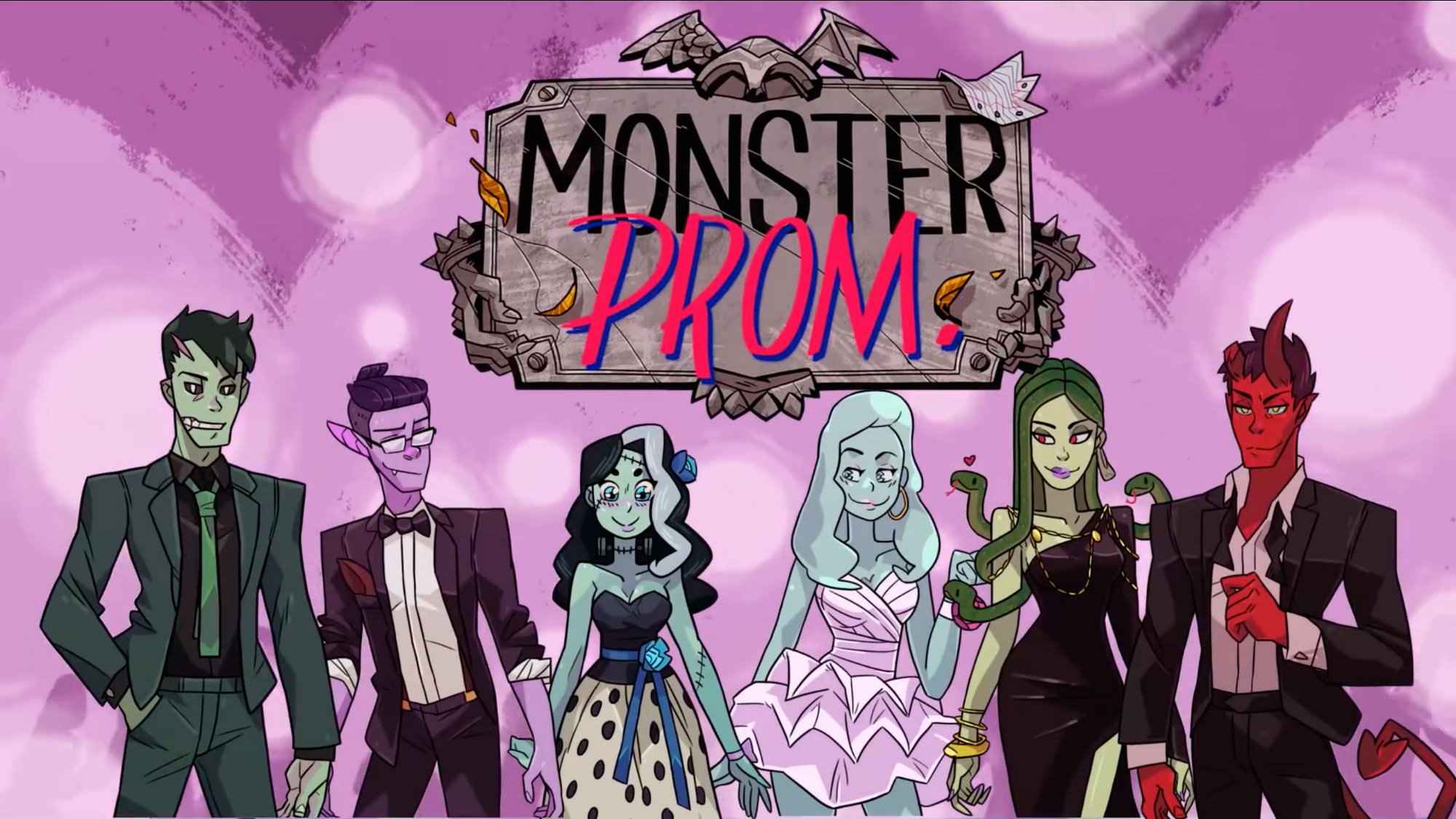 Monster dating sim