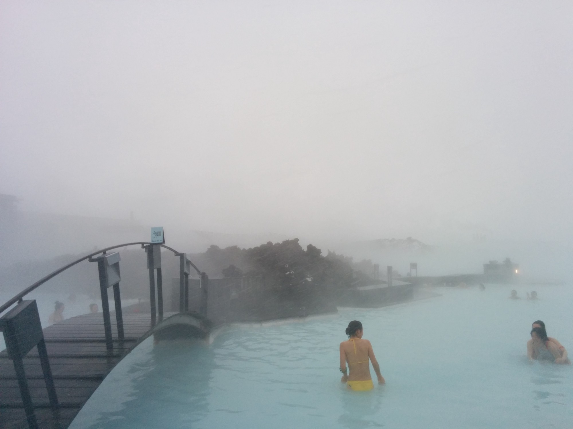 Iceland: White Christmas in the Blue Lagoon – Justin Wood – Medium