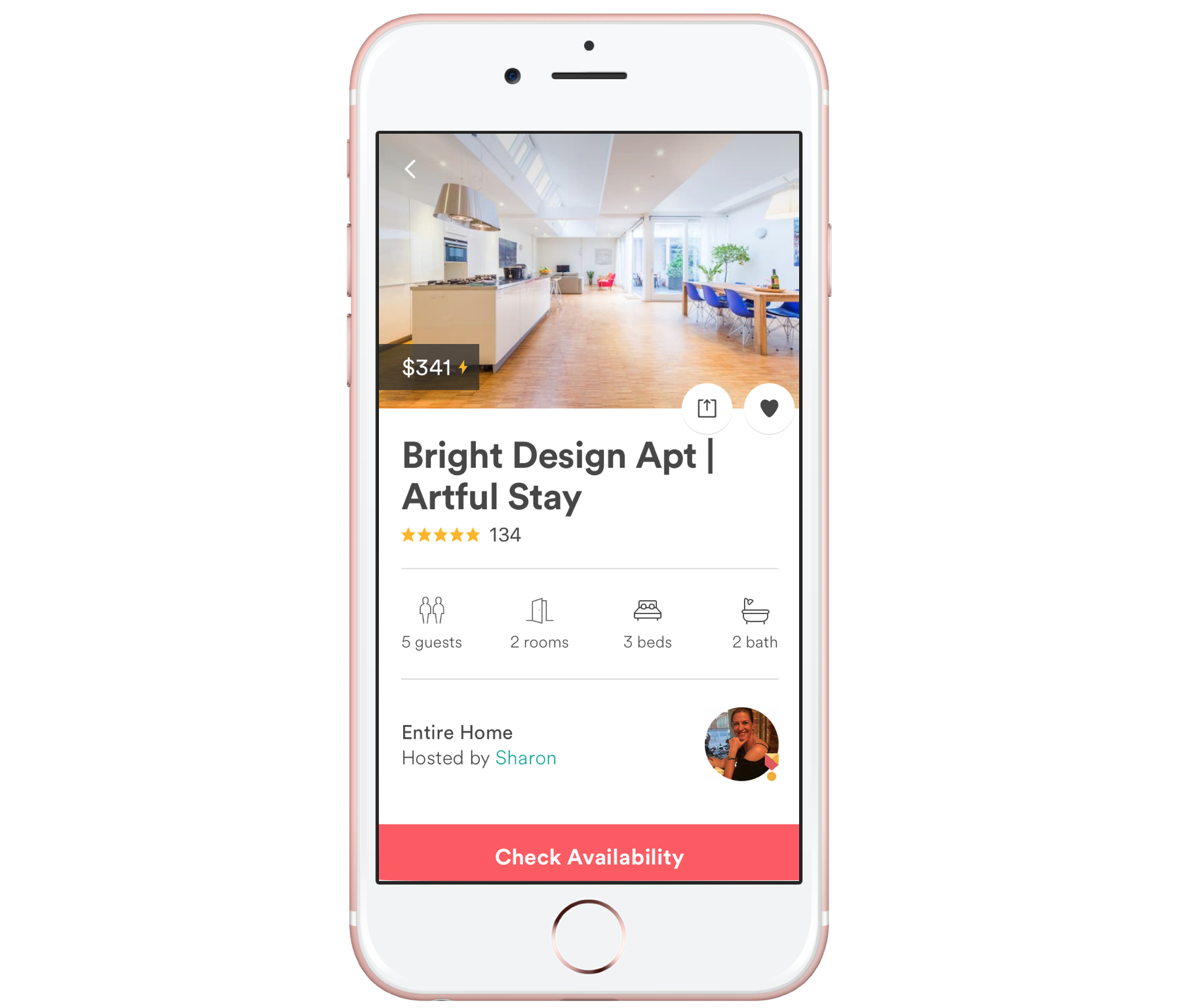 Introducing The Airbnb Imessage App Airbnb Engineering Data