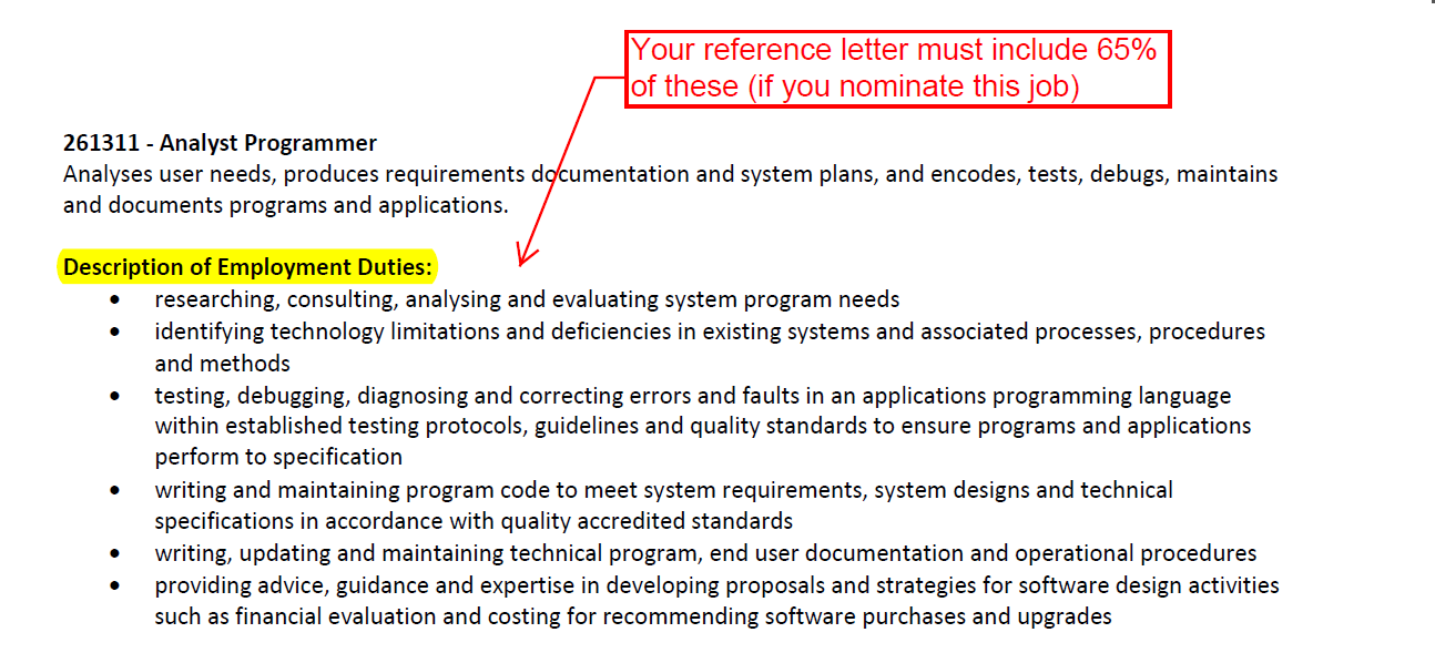 finally heres a sample employment reference letter again there are many other things you should note and conditions that might apply to you personally