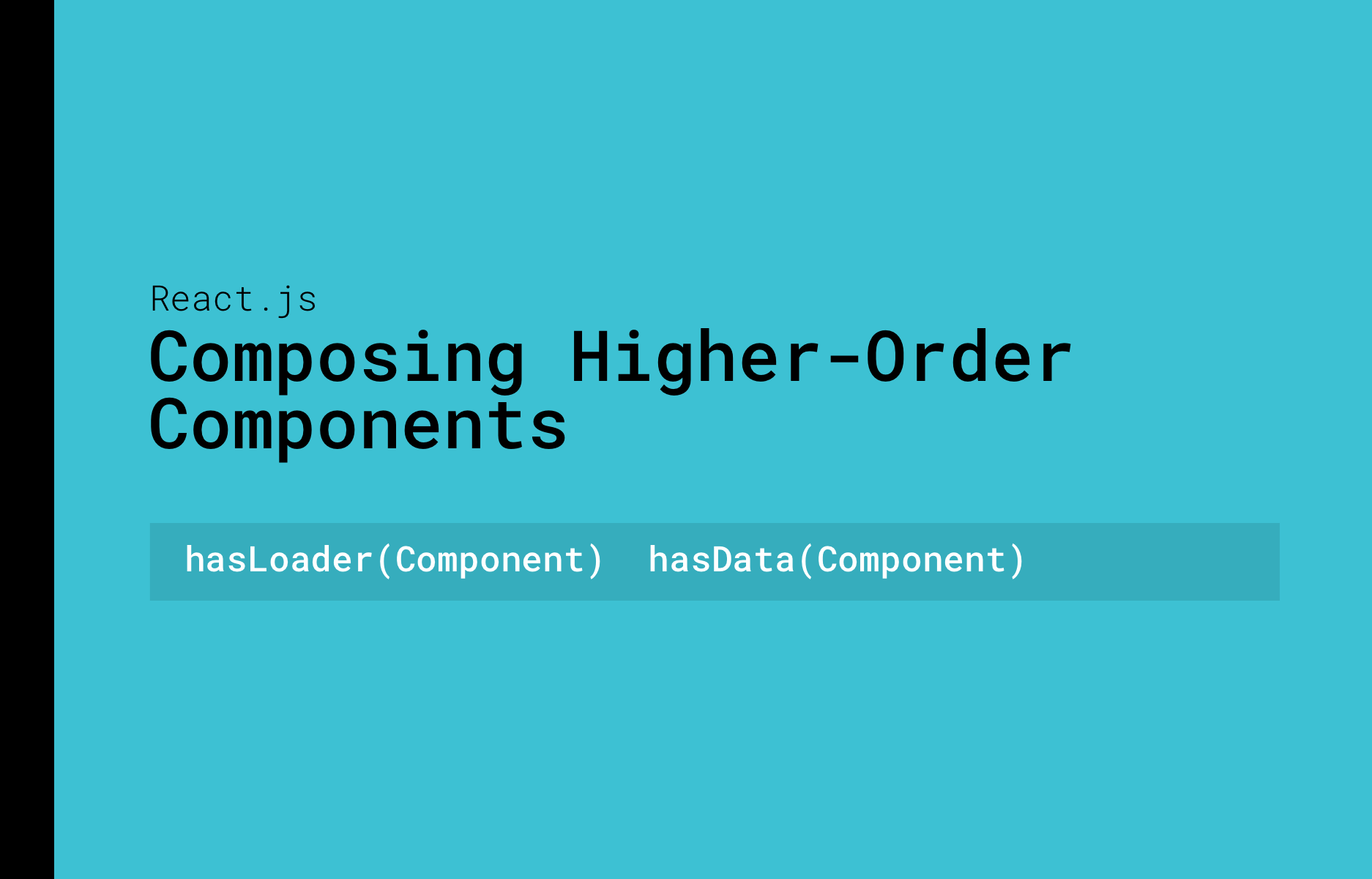 How to Compose an Functionality Composition
