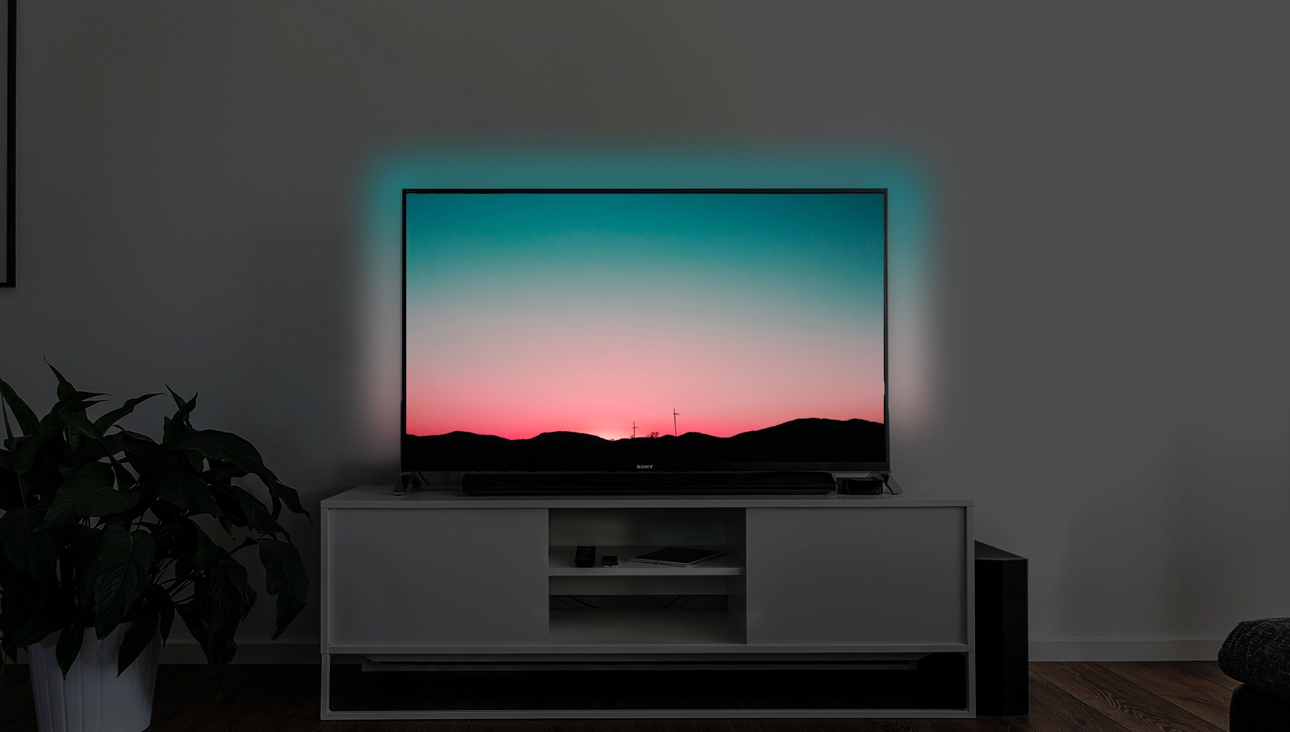 The Best Tv Experience Philips Ambilight Clone Hacker Noon Led Strips In My Device Use Ws2801 Controller Uses A Phillips Is An Immersive Lighting System Built Into Televisions Lights Around Match Color At Each Edge Of Screen