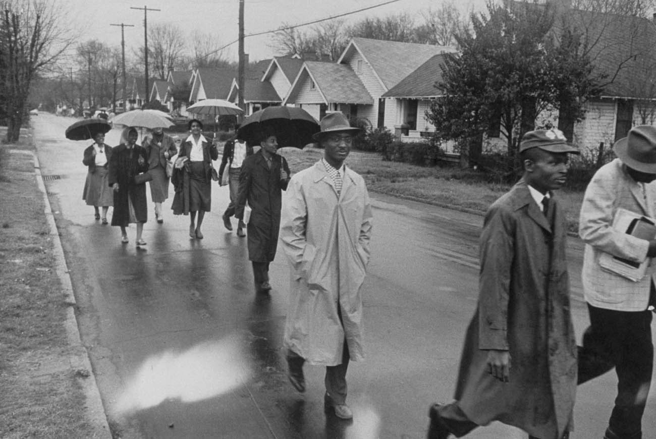 The Power of Collective Solidarity: The Montgomery Bus Boycott in American Memory