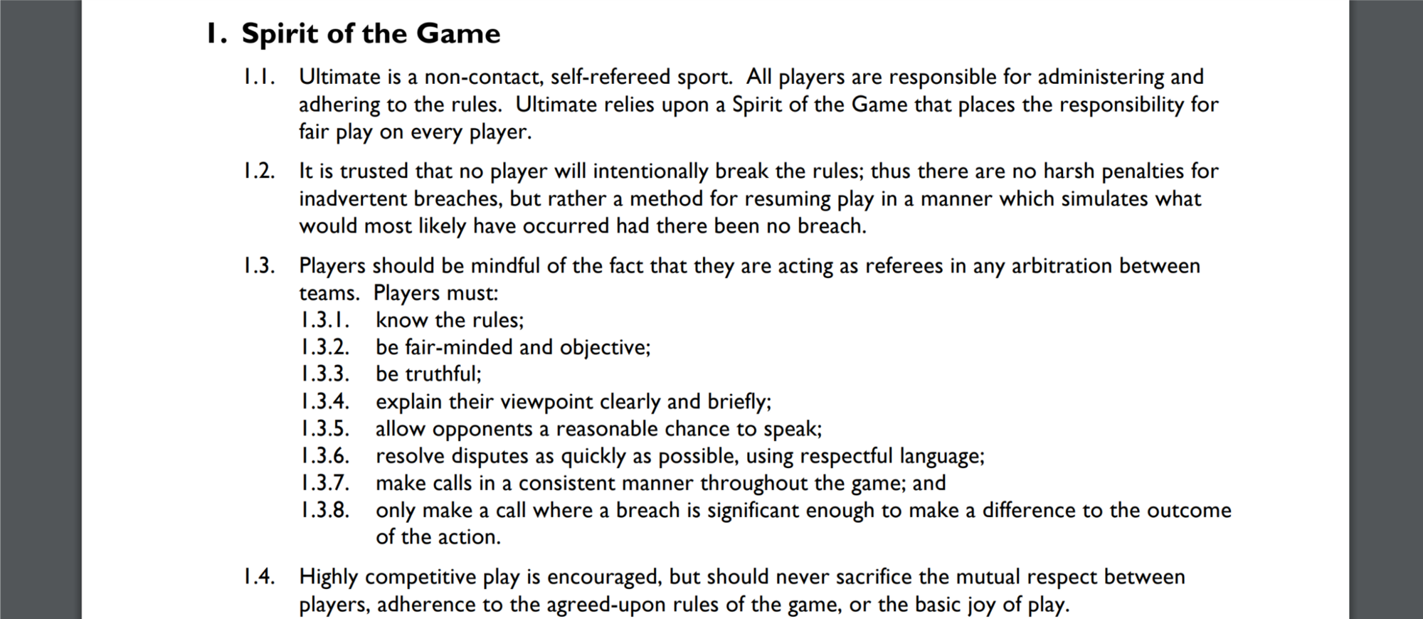 Ultimate Frisbee Rules Topsimages