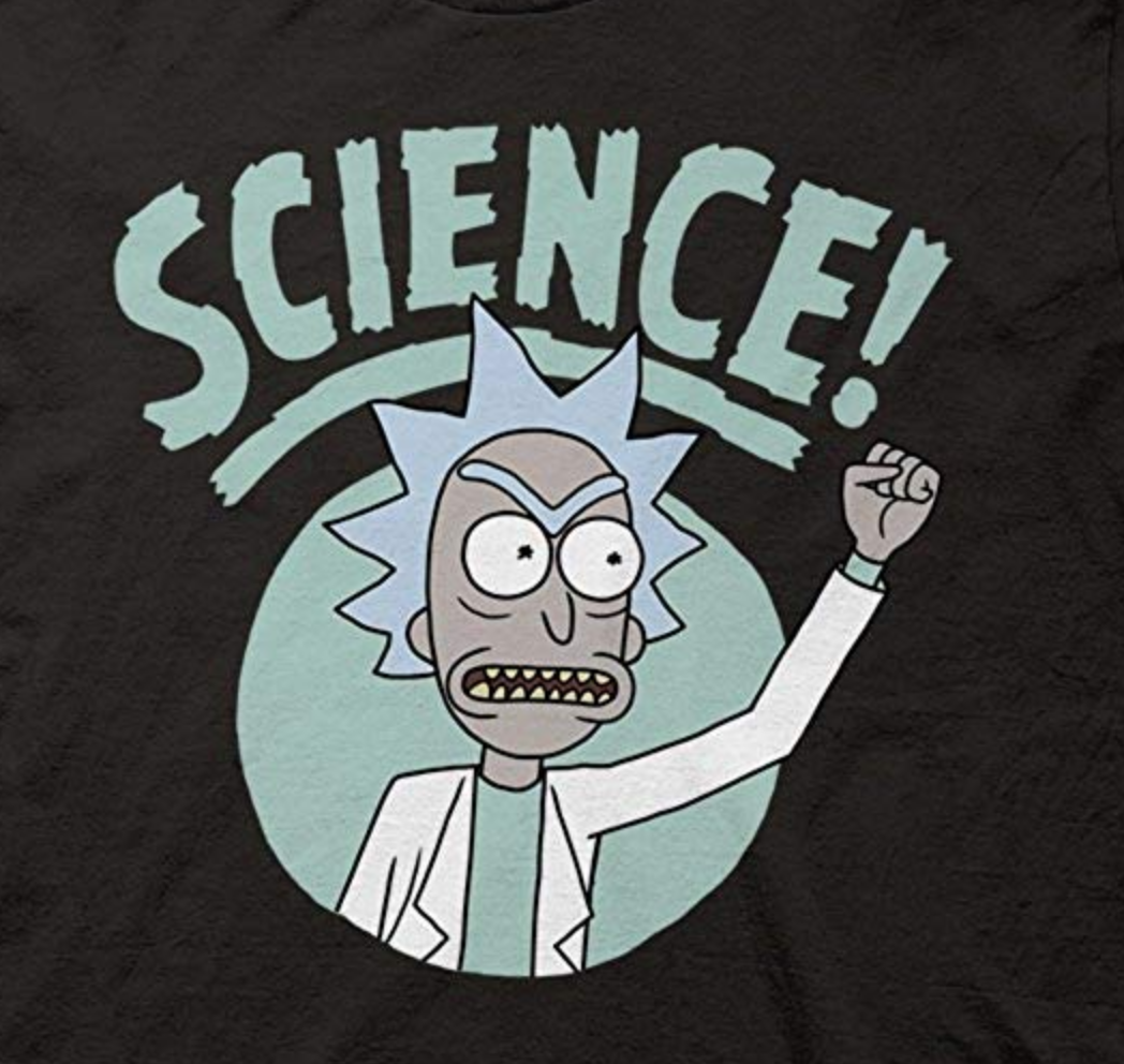 Fight for engineering control ([OK t-shirt](https://www.amazon.com/Ripple-Junction-Morty-Science-T-Shirt/dp/B07DRMRSY6))