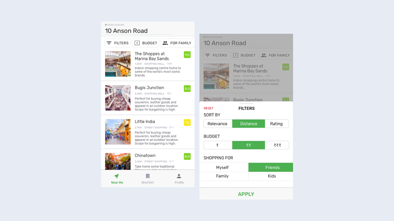 Designing a local shopping discovery app—a UX case study