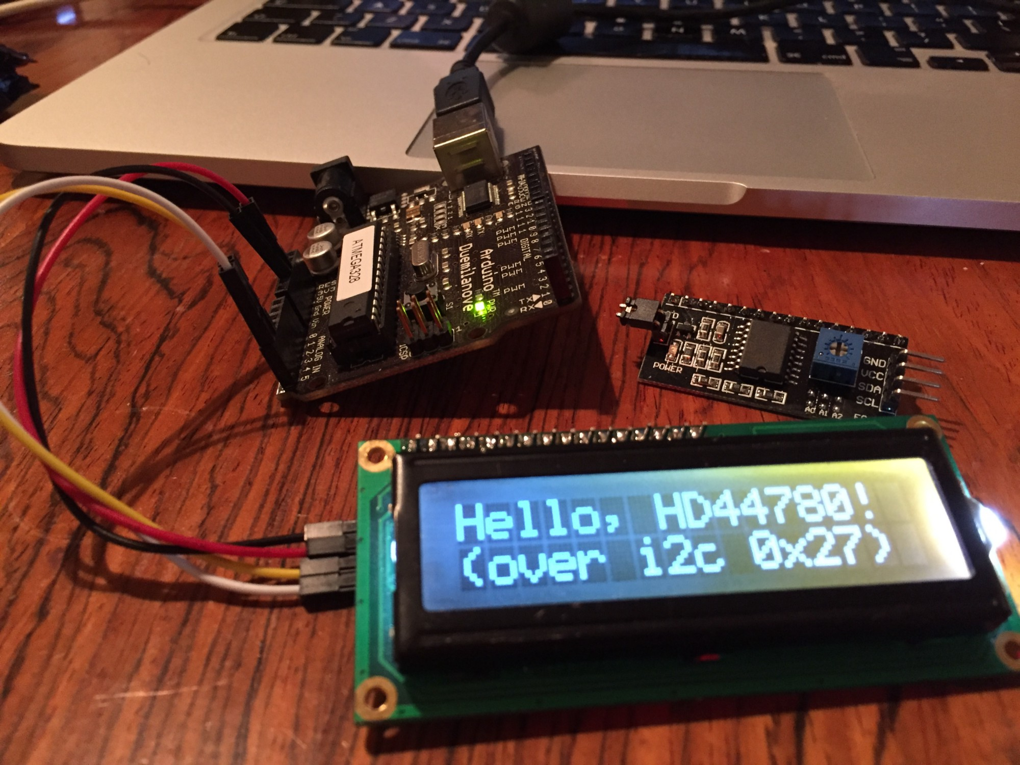 Arduino Cheap I2c Lcd Backpack Ubi De Feo Medium Level Shifter Circuit Image Search Results While On A Shopping Spree Ebay I Ended Up Purchasing Couple Of Backpacks For Hd44780 Based Lcds These Controller Boards Are The Pcf8574