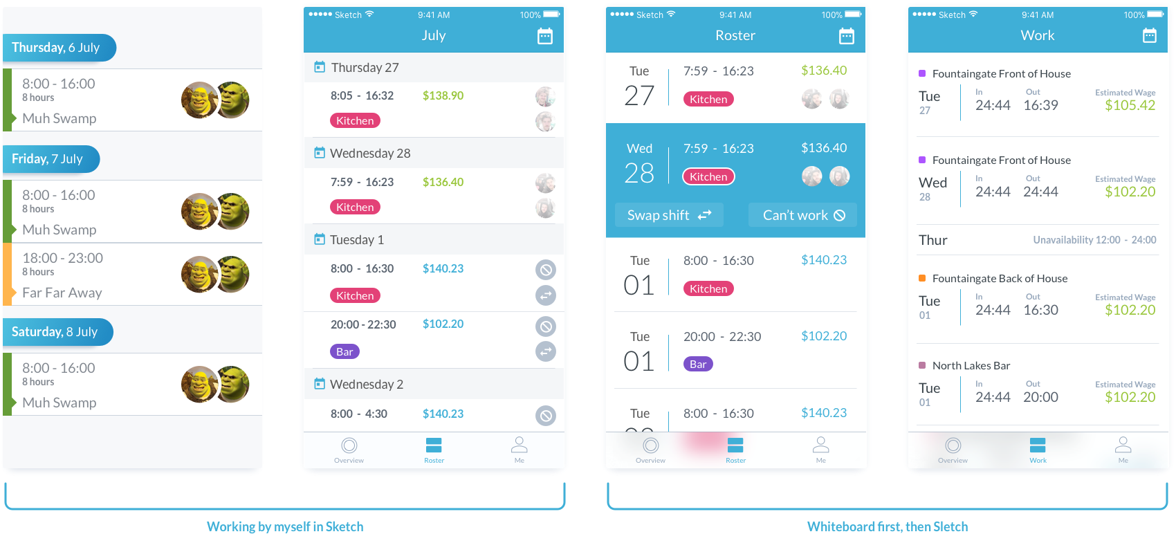 Designing Rosters in the Tanda Mobile App