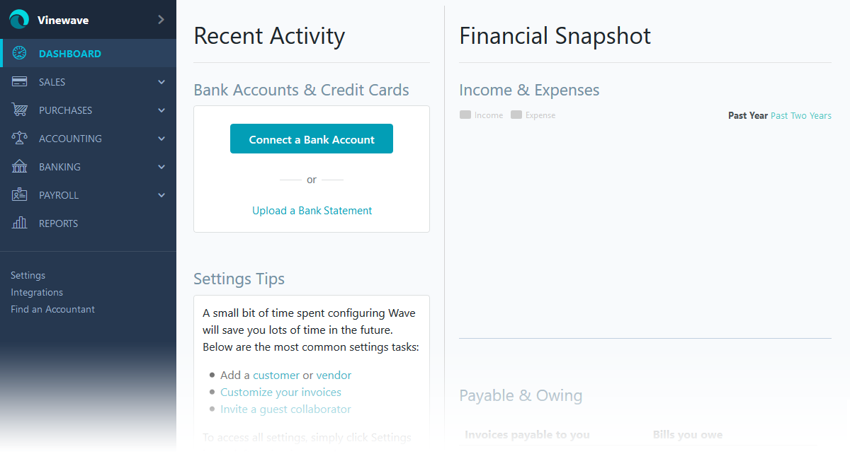 Reasons Why We Dumped Wave Accounting For Xero Lawrences Blog - Online invoice south africa