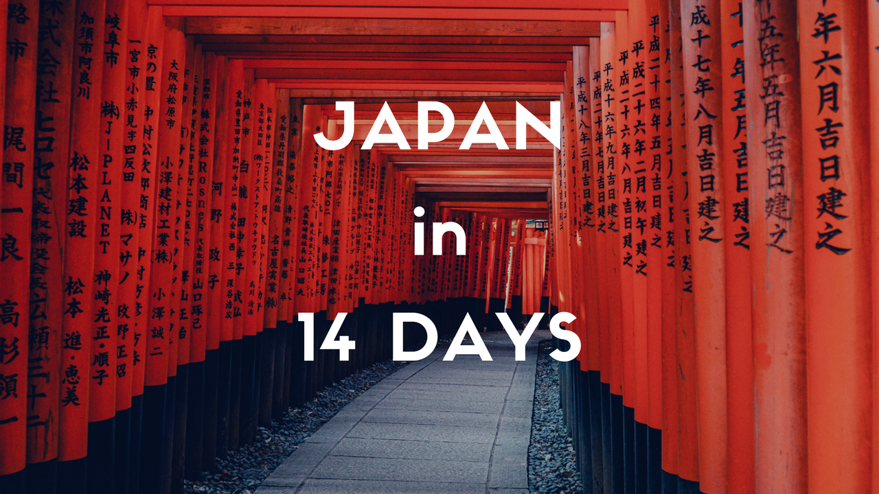2 weeks itinerary in japan for first timers japan travel guide