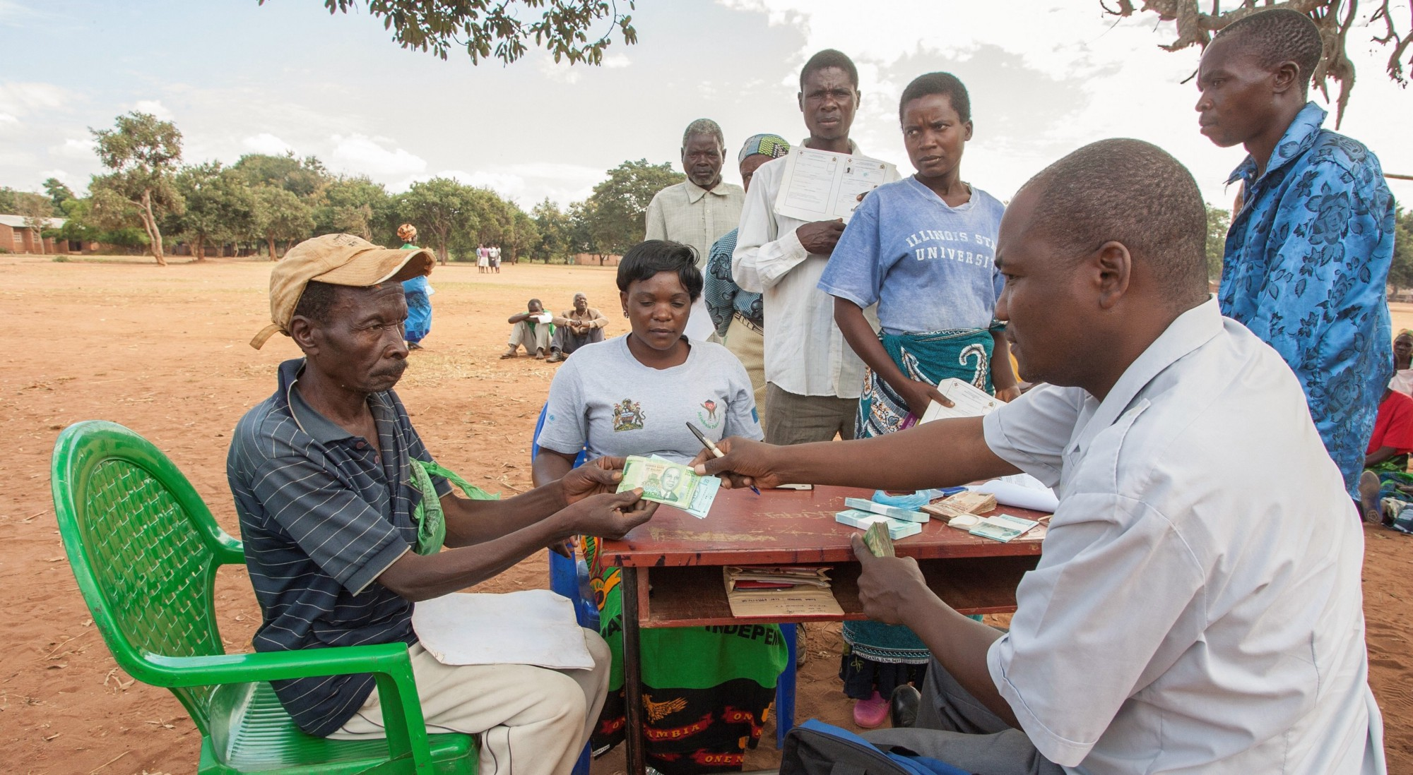 My time working on cash transfers for the poorest families in Malawi