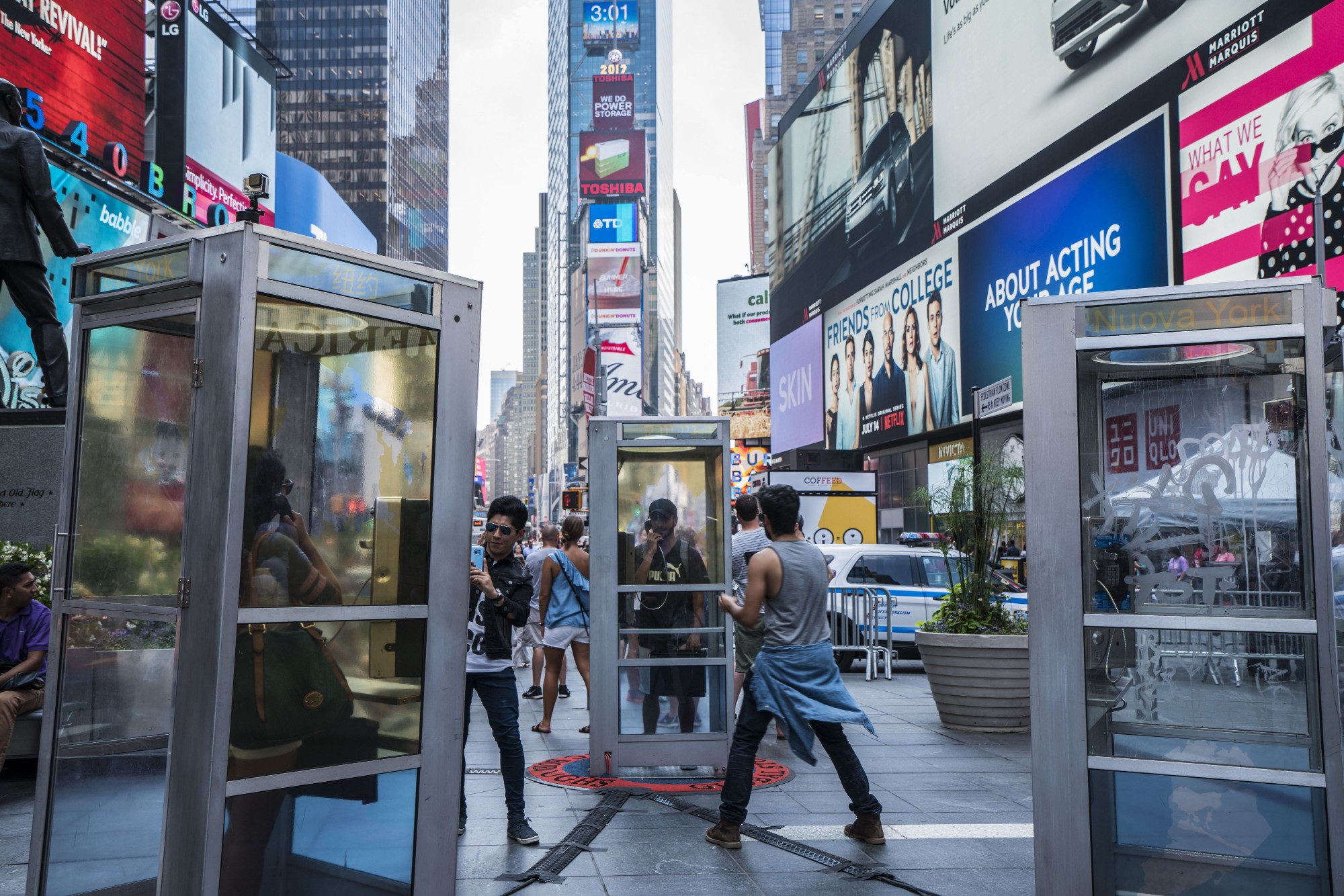 Mojadidi's New Installation Once Upon A Place In Times Square Photo: Rowan  Wu For Times Square Arts