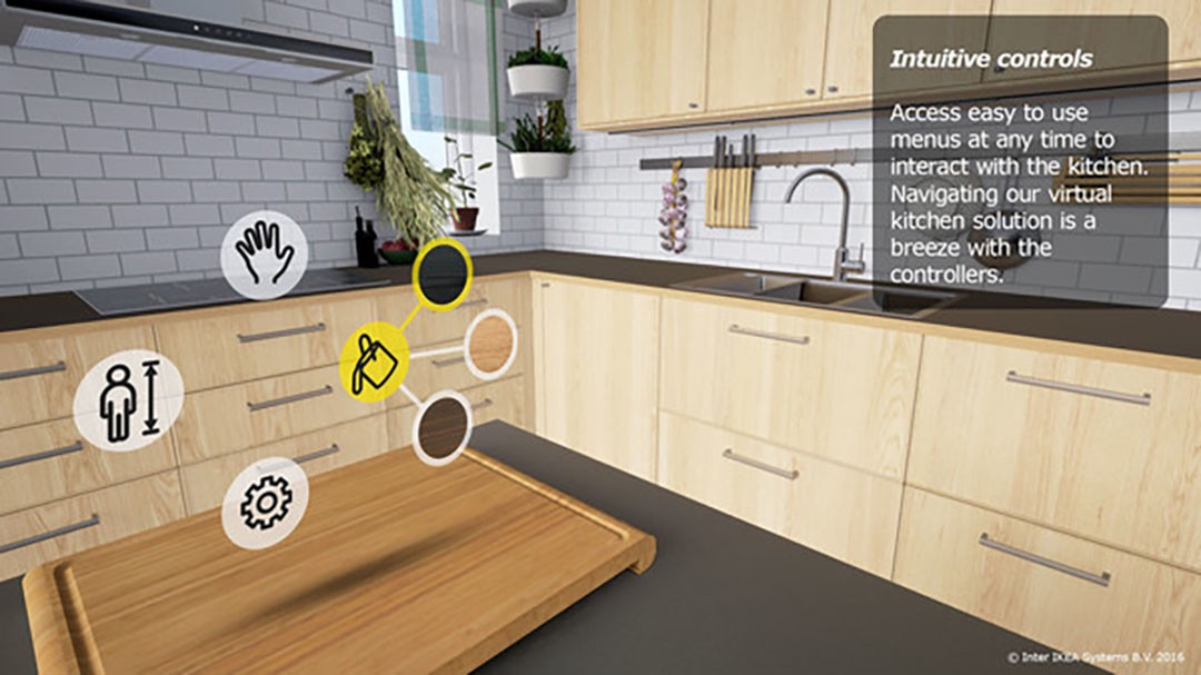 Augmented and Virtual Reality Kitchen Experience