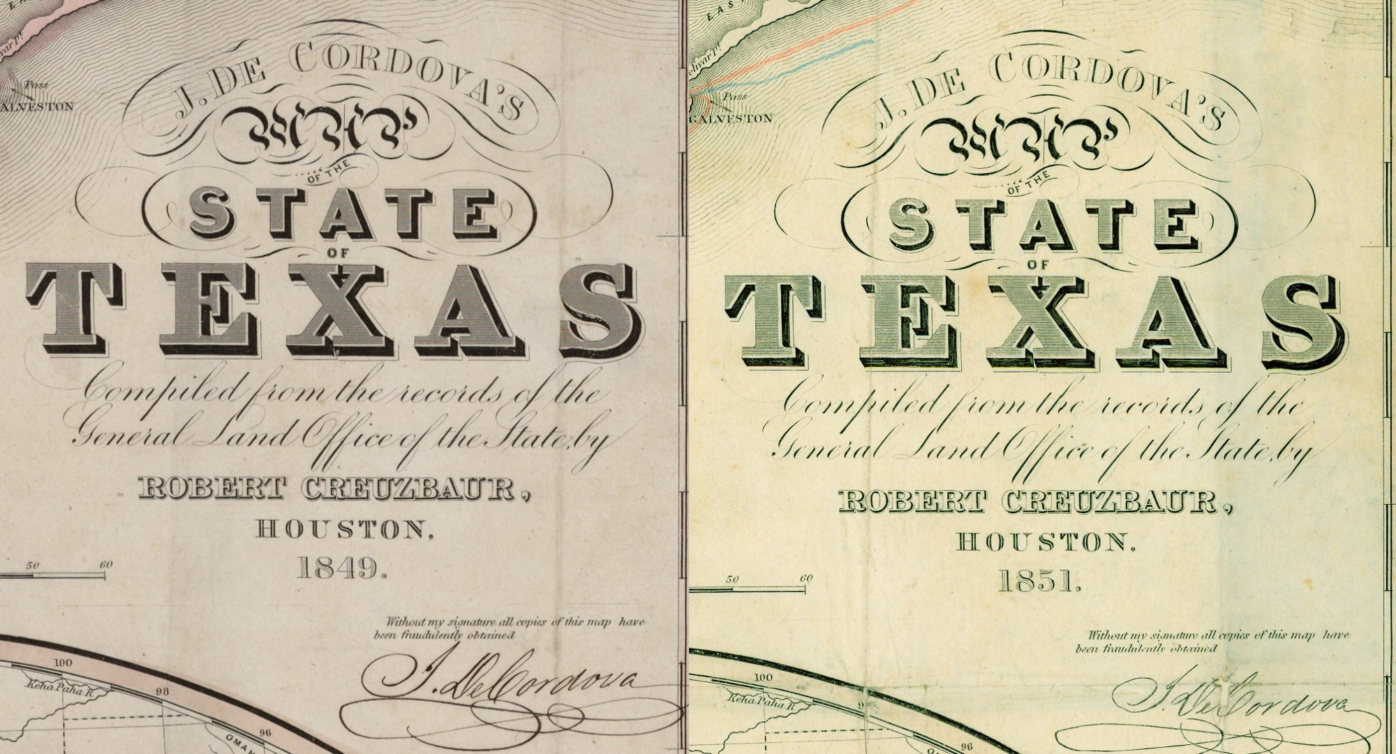 j de cordova s map of the state of texas… – save texas history