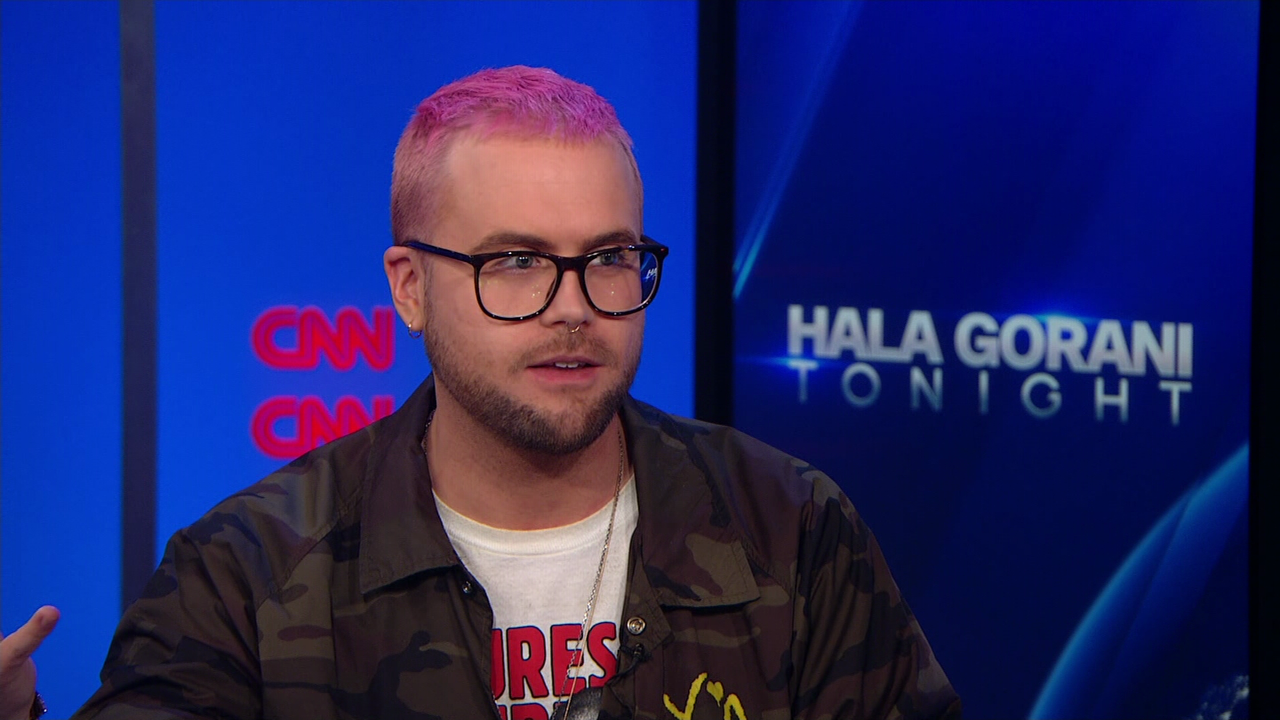 Christopher Wylie, who worked at Cambridge Analytica
