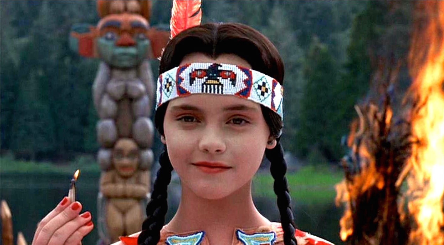 wednesday addams is just another settler electric literature