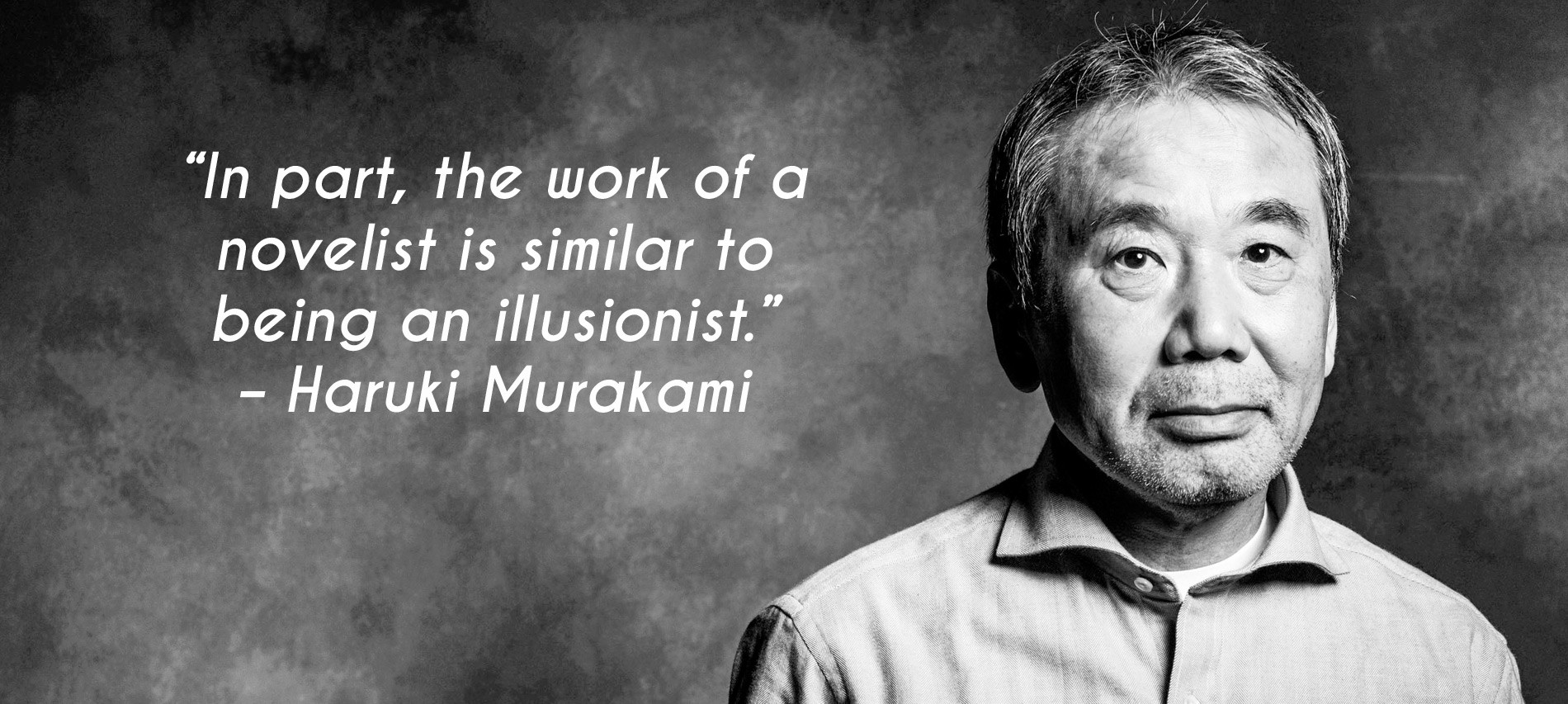 Haruki Murakami's Lessons on Writing and Leading a Writer's Life