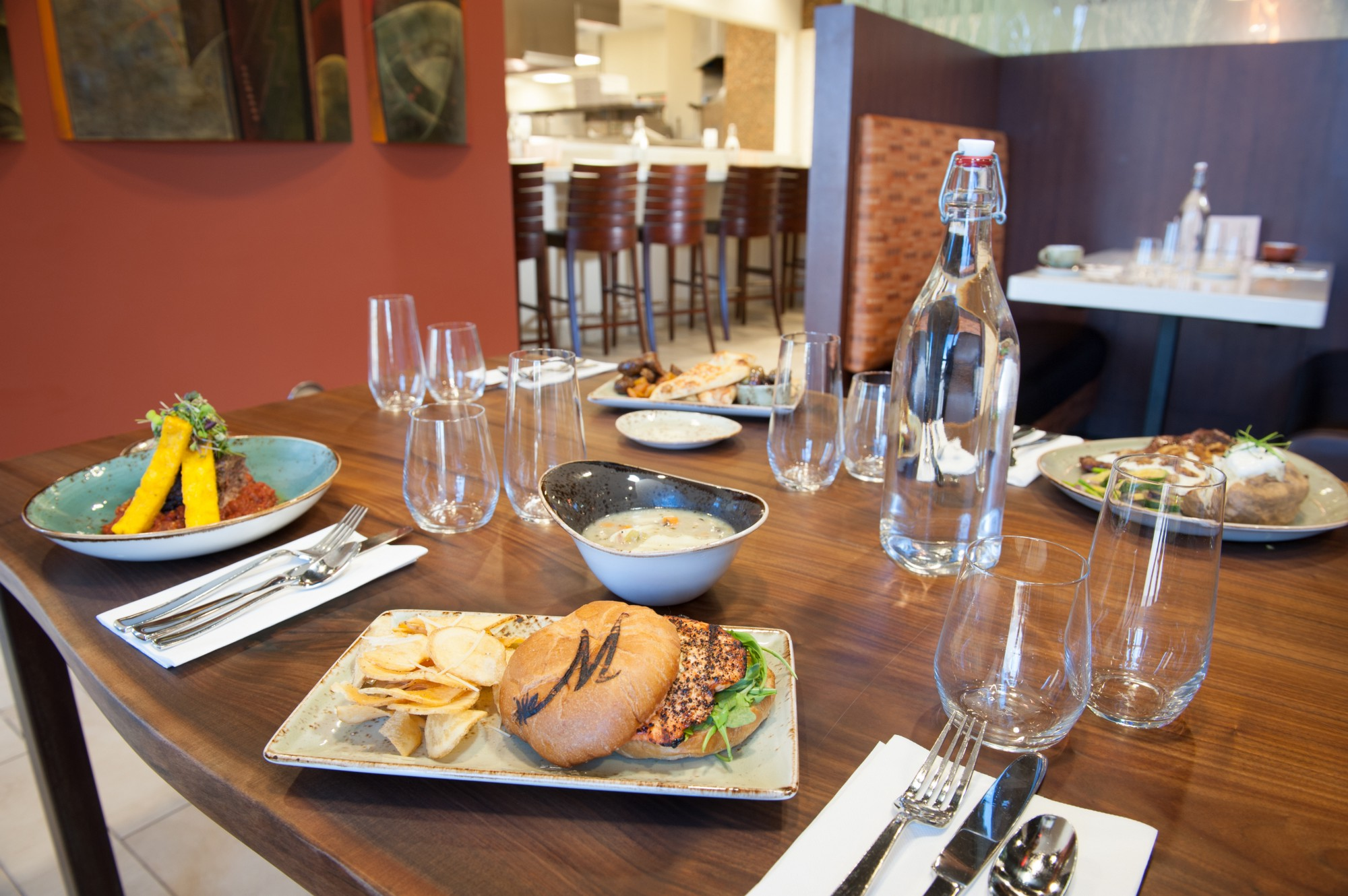 Garden-to-table restaurant attracts locals, wows patients