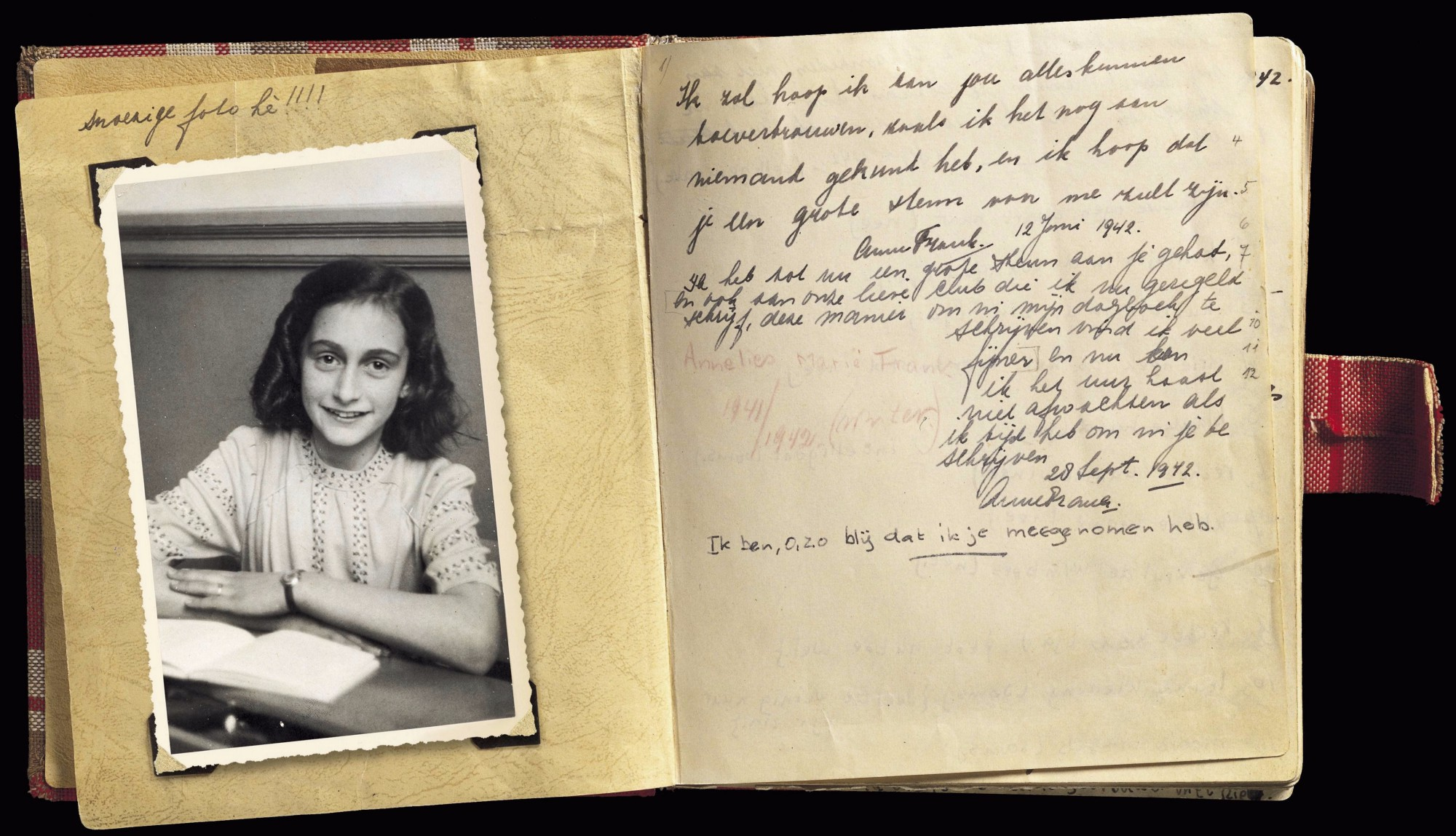 Researchers Have Found Two New Pages In Anne Frank S Diary Should