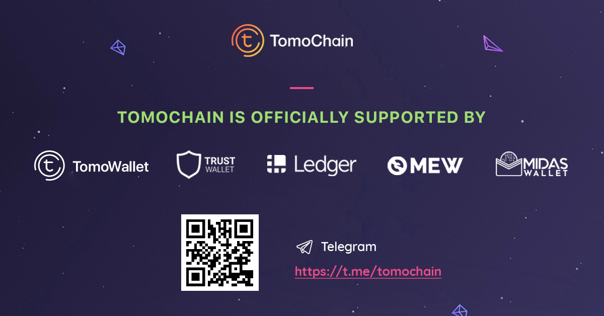 TomoChain is officially supported by Ledger Nano S - TomoChain