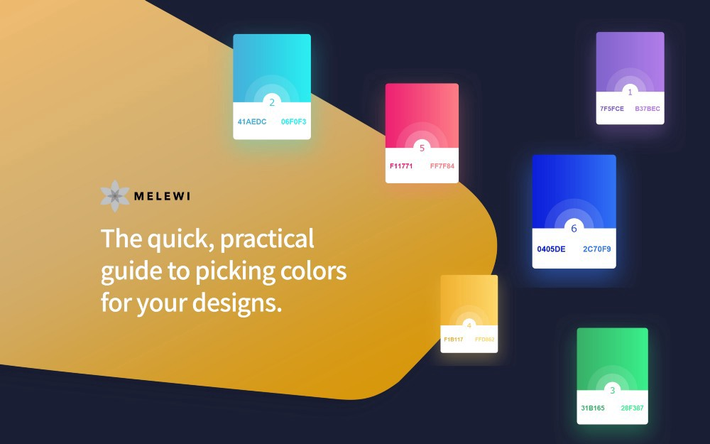 The quick, practical guide to picking colors for your designs
