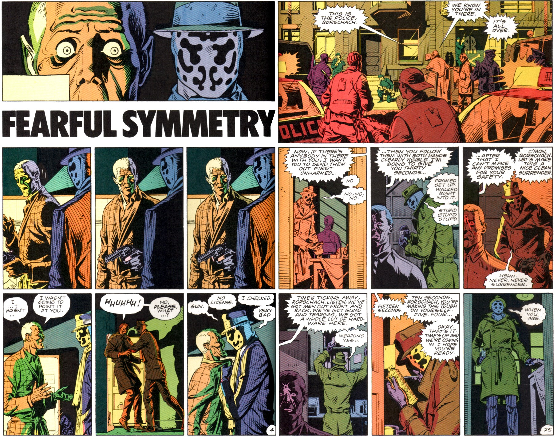 watchmen s fearful symmetry almost frame by frame
