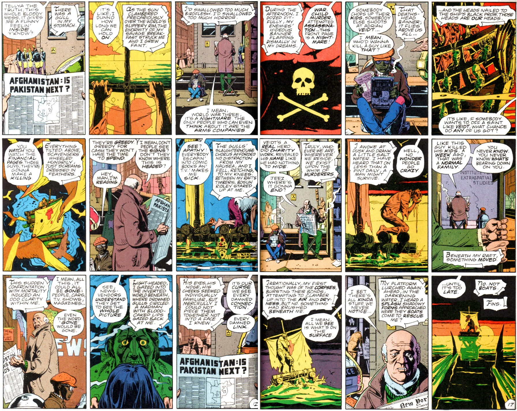 Watchmen\'s Fearful Symmetry: (almost) frame by frame
