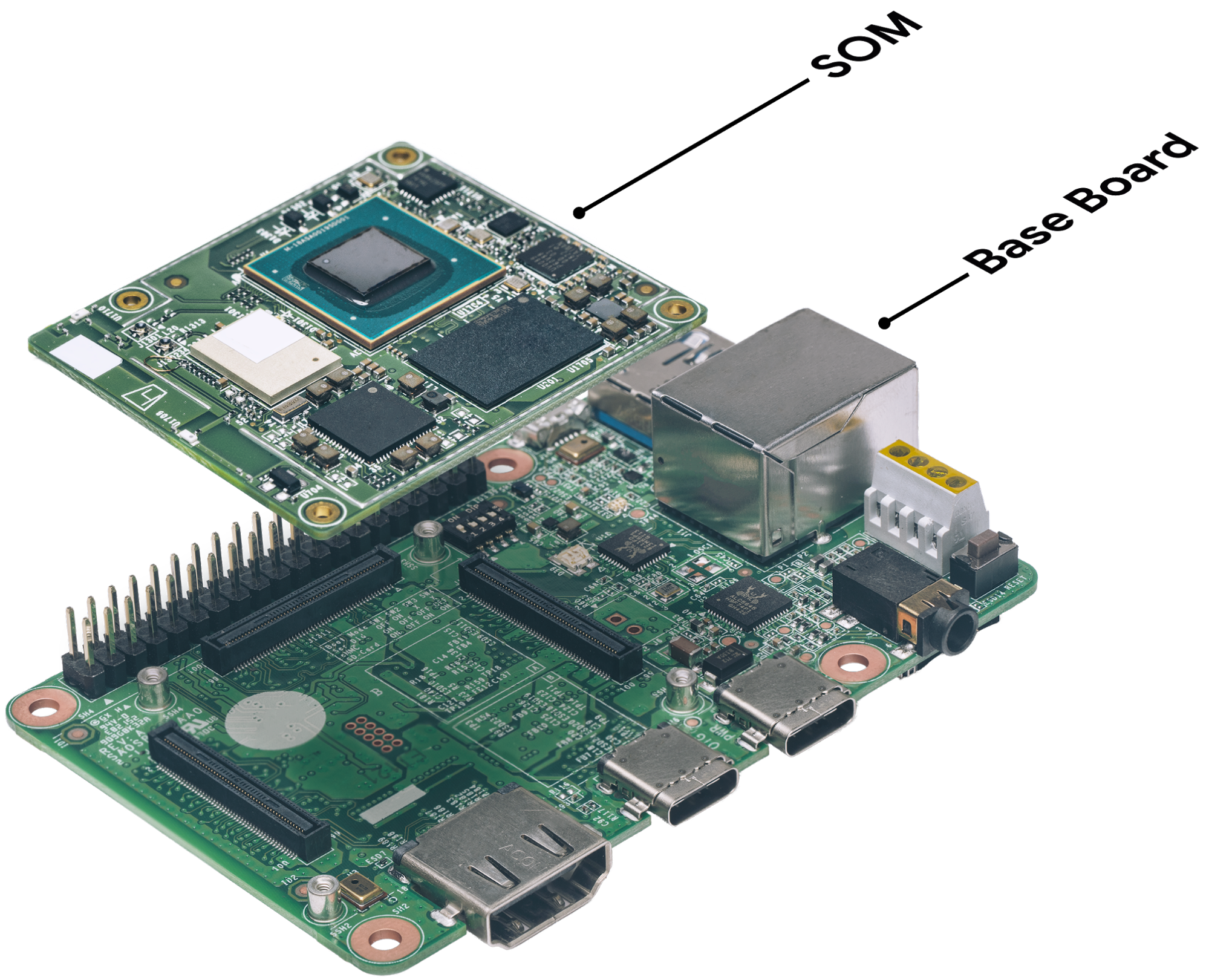 Google Releases Edge Tpu And Cloud Iot At Next Circuit Board With Electronic Components Inside A Computer Stock Photo