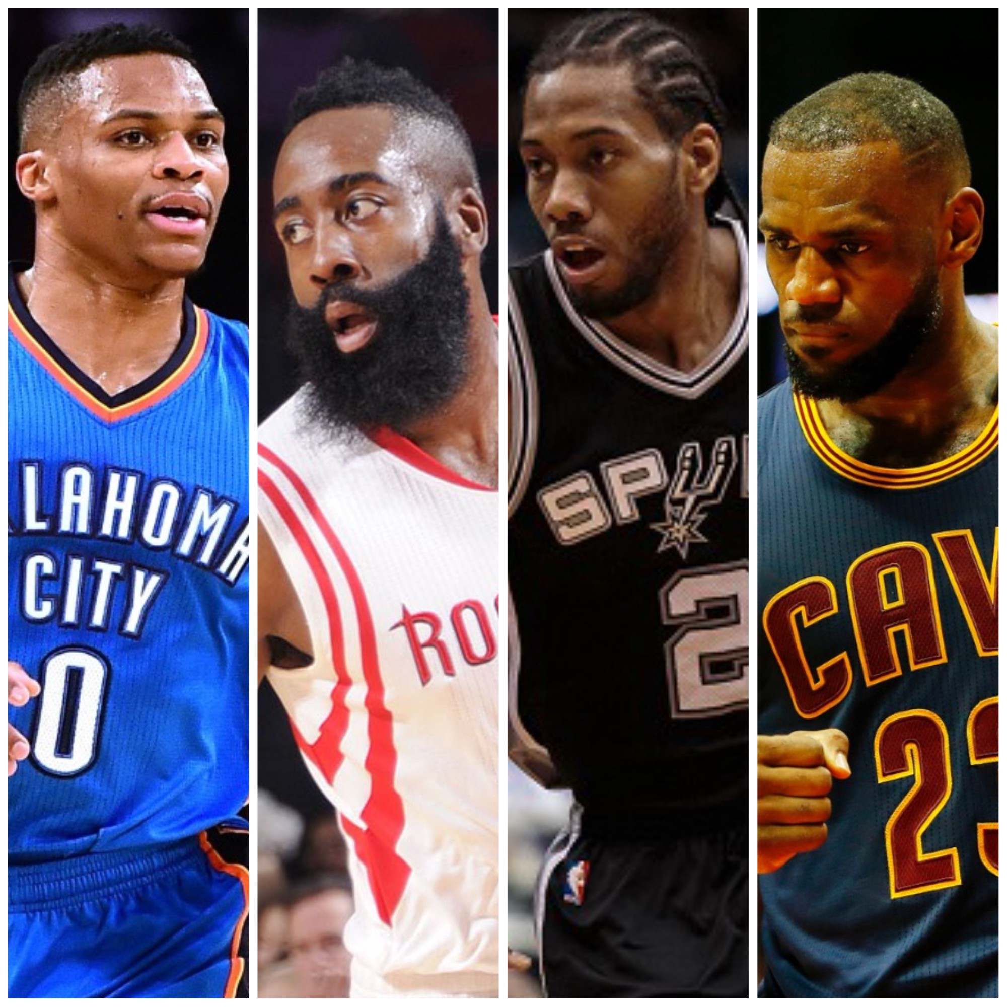 Lebron james continues to state case that gregg popovich is the best coach ever foxsports com - Russell Westbrook James Harden Kawhi Leonard Lebron James