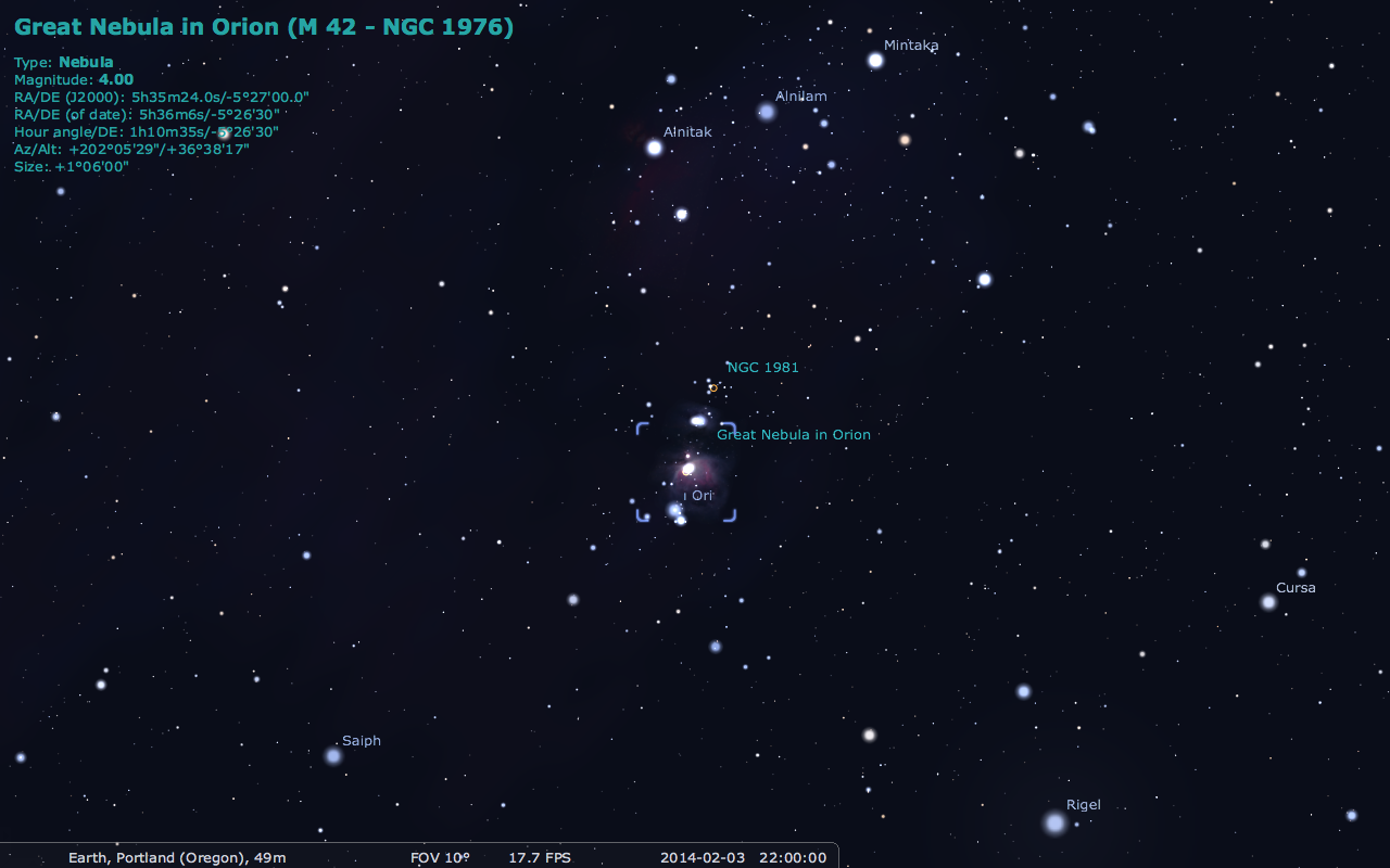 Discussion on this topic: How to Find the Orion Nebula, how-to-find-the-orion-nebula/