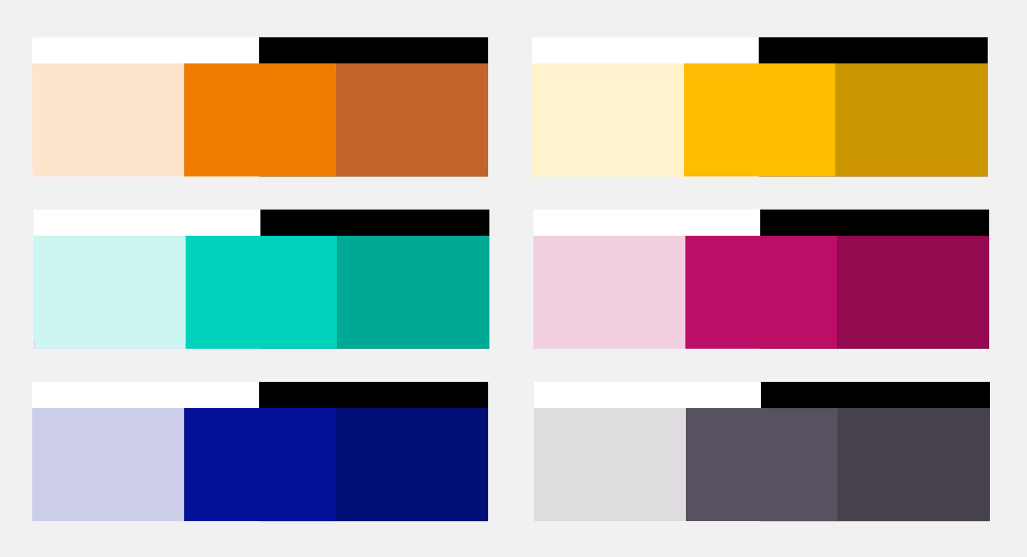 automatically creating an accessible color palette from any color sure
