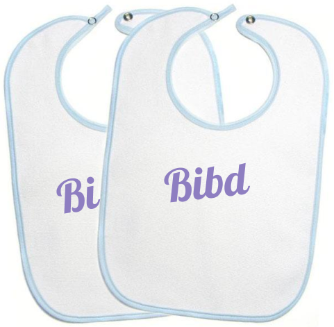 Making the word a better place through delivered baby bibs