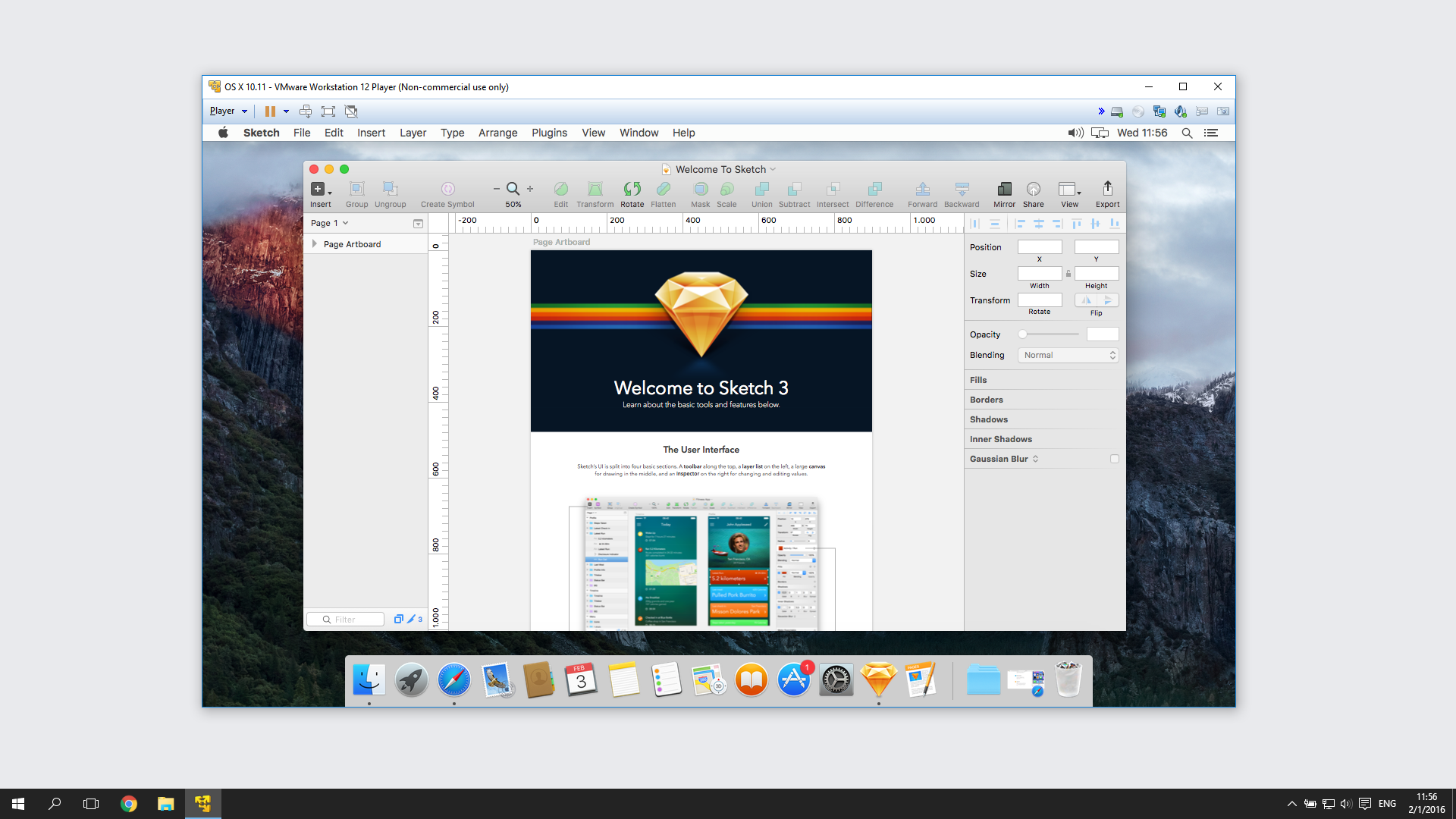 How i started using sketch app in windows design for Window design sketch