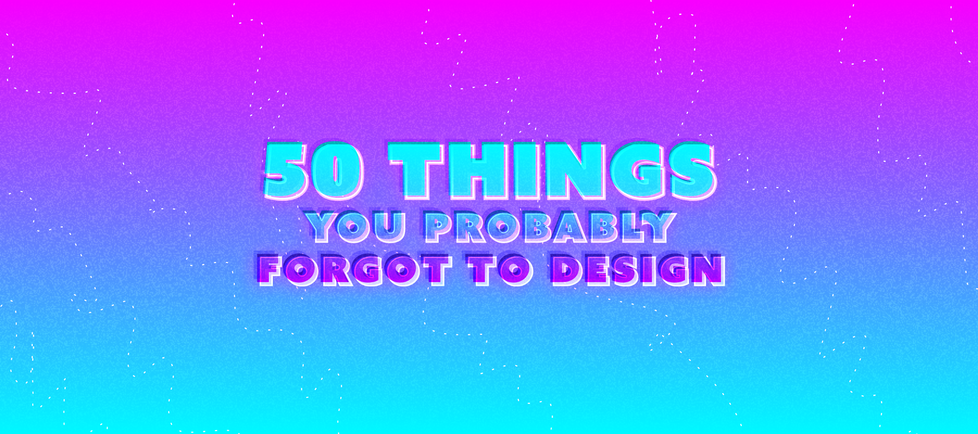 50 things you probably forgot to design ux power tools medium