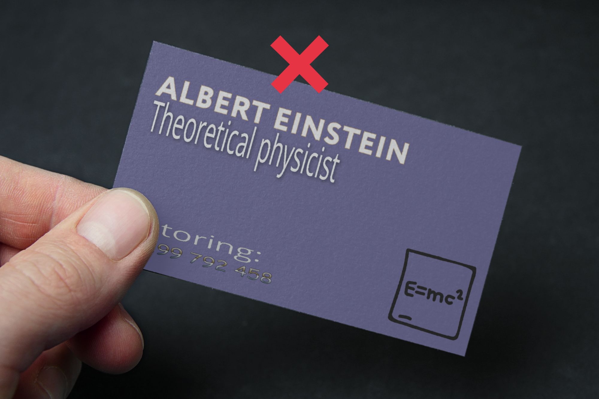 Top 4 most common mistakes in business card design logomachine before can you spot that comic sans colourmoves