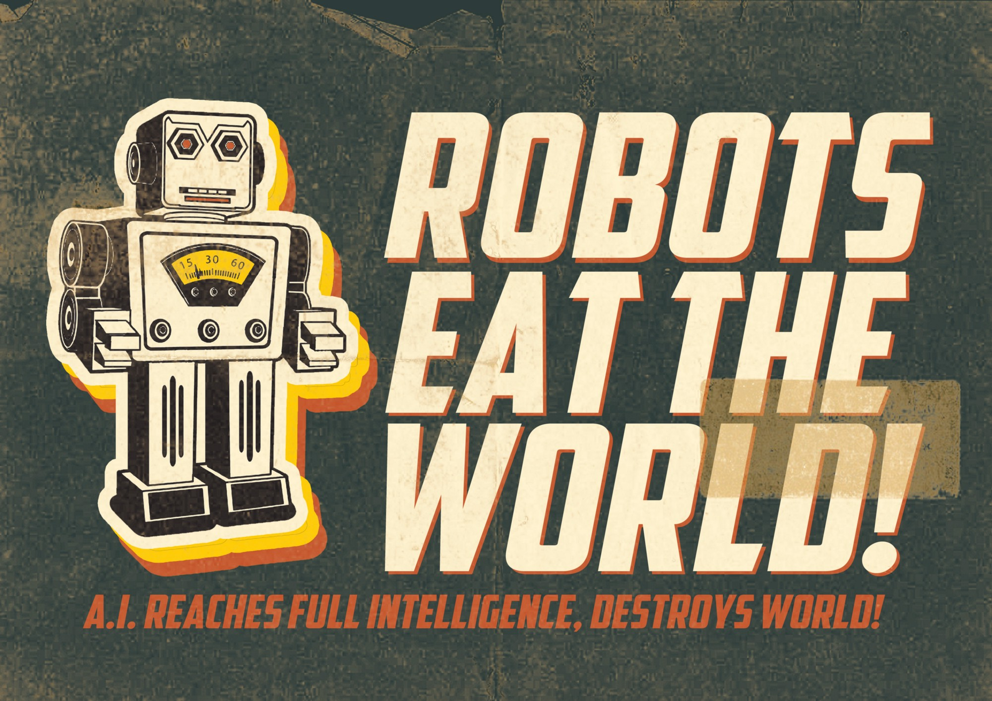 Image result for death to all robots