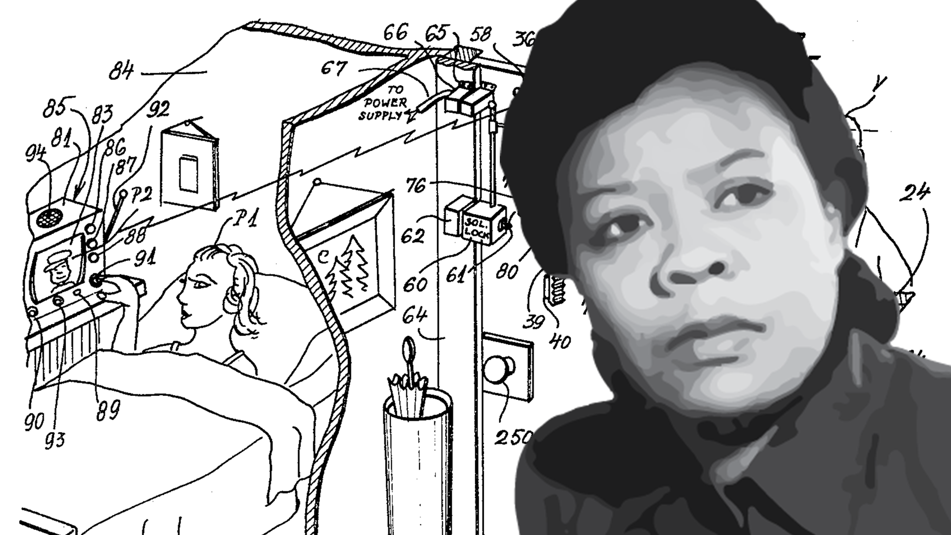 Watch: This black nurse from Queens invented the basis of the home security system
