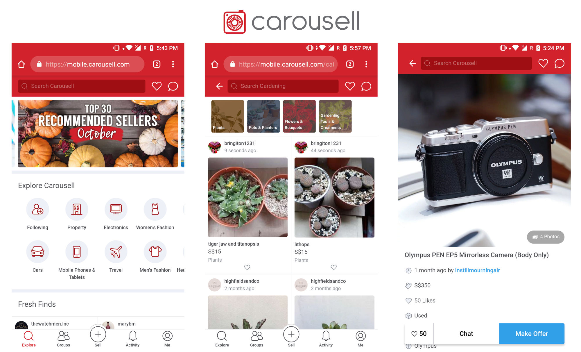 How we made Carousell's mobile web experience 3x faster