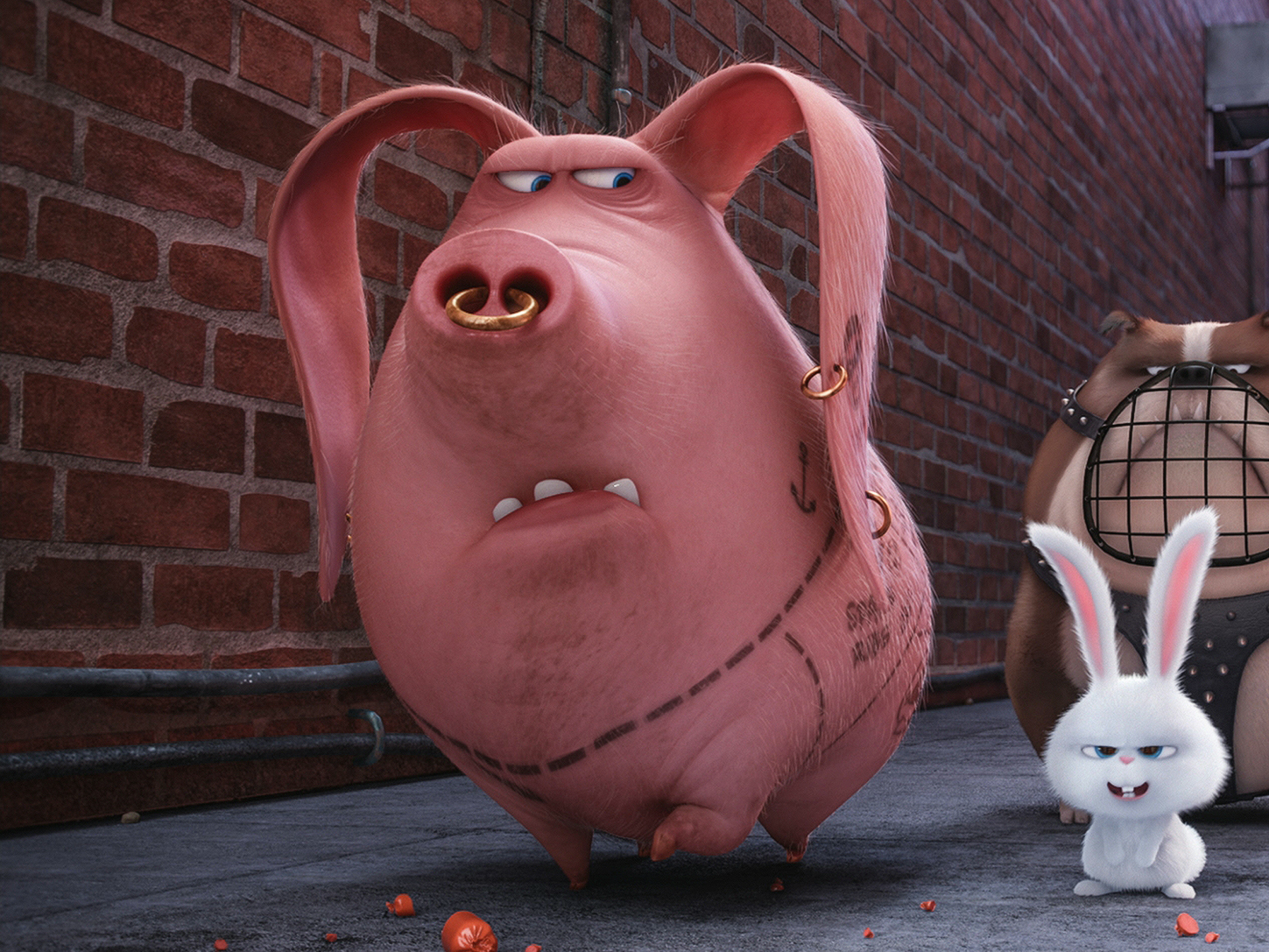 The Secret Life Of Pets Wasn T Lying People Have Tattooed Pigs For